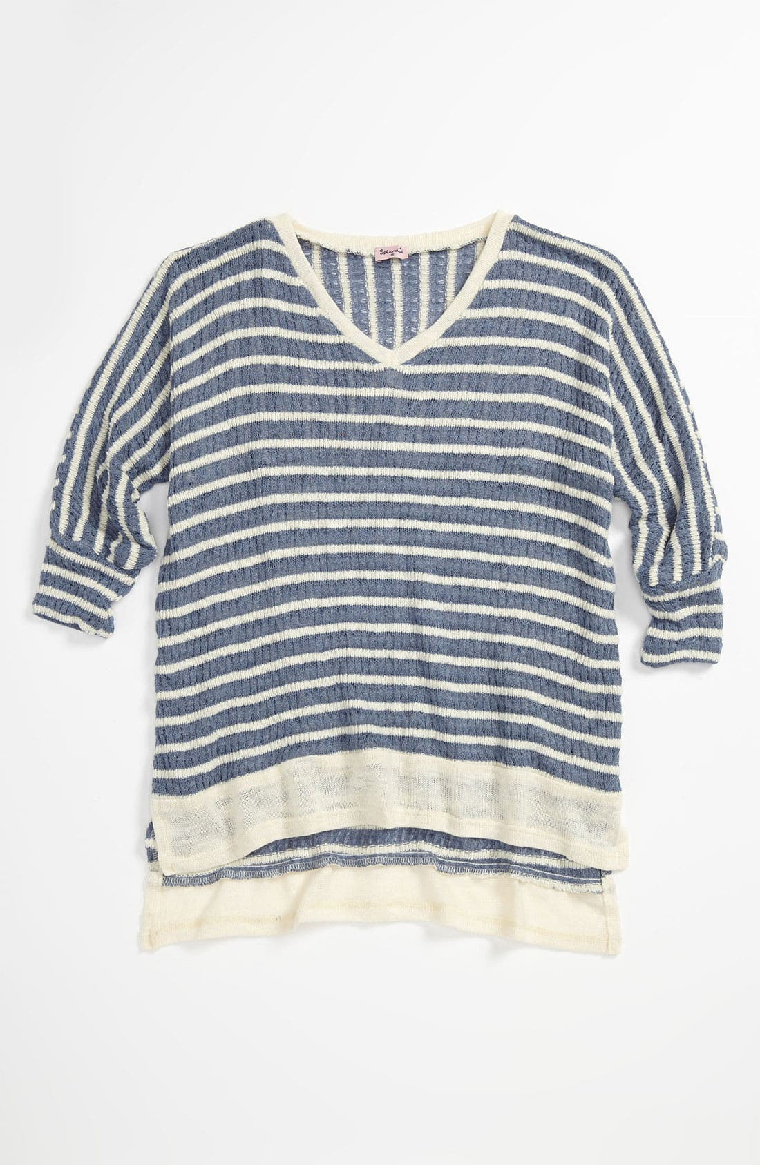 Alternate Image 1 Selected - Splendid 'Panama' Stripe Top (Big Girls)