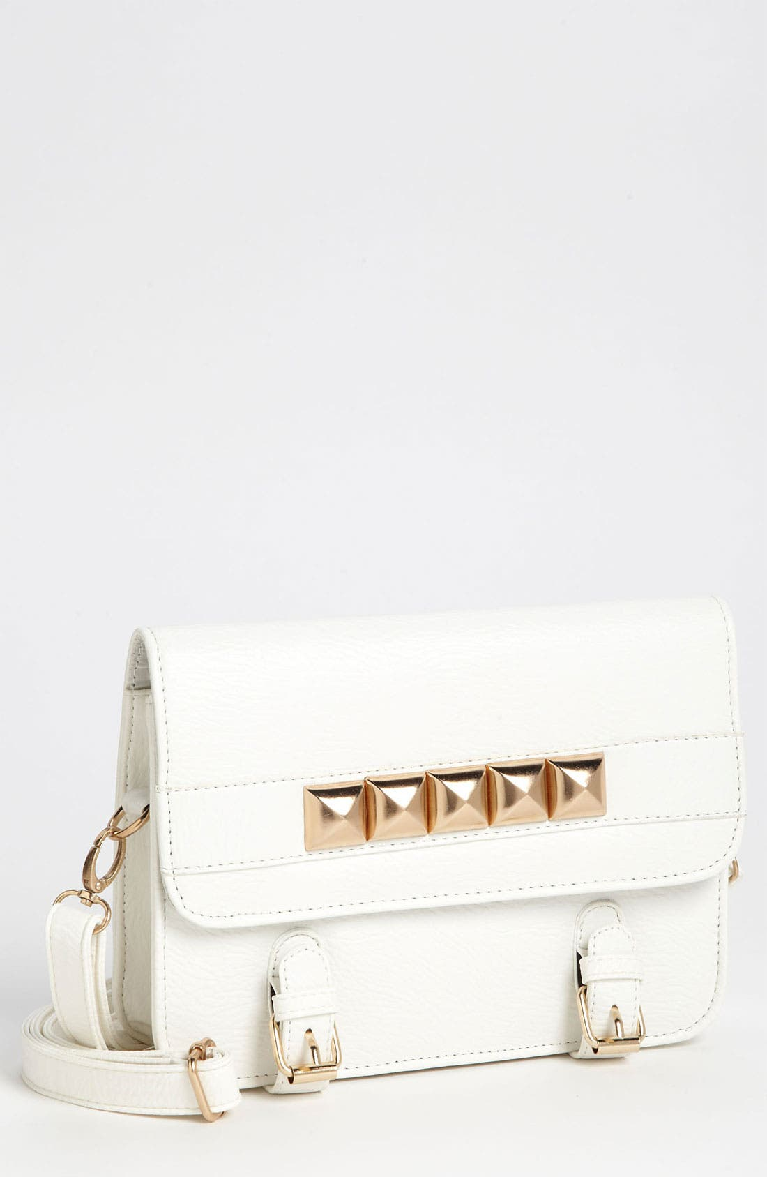 Main Image - Top Choice Studded Crossbody Bag