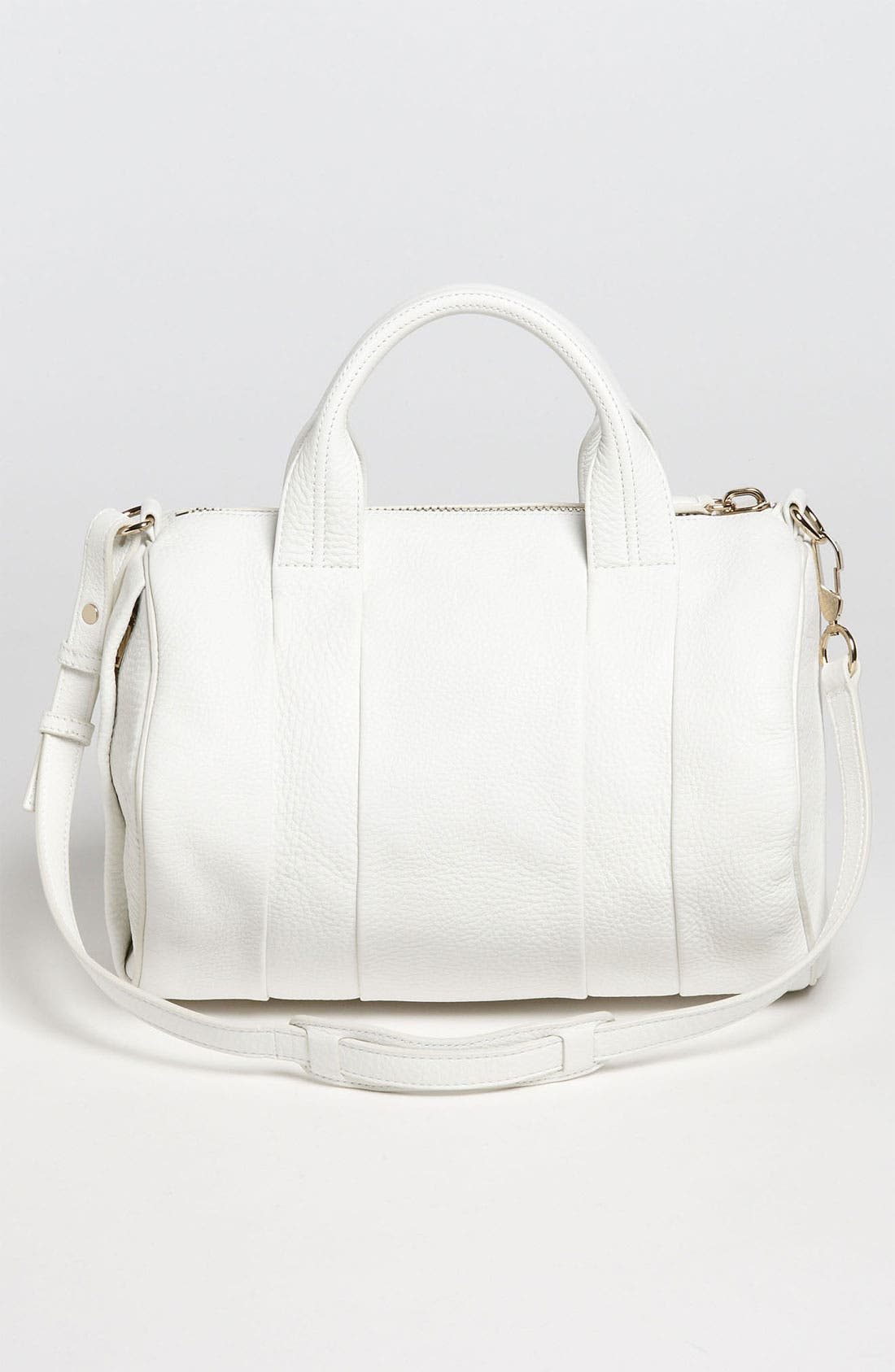 Alternate Image 4  - Alexander Wang 'Rocco - Pale Gold' Leather Satchel
