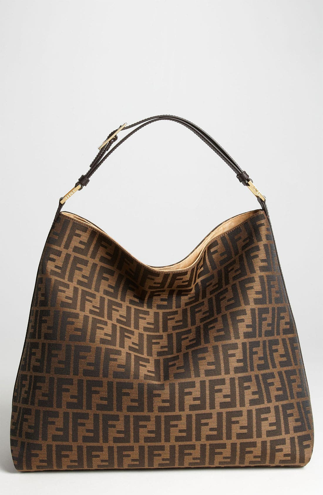 Alternate Image 1 Selected - Fendi 'Zucca' Hobo