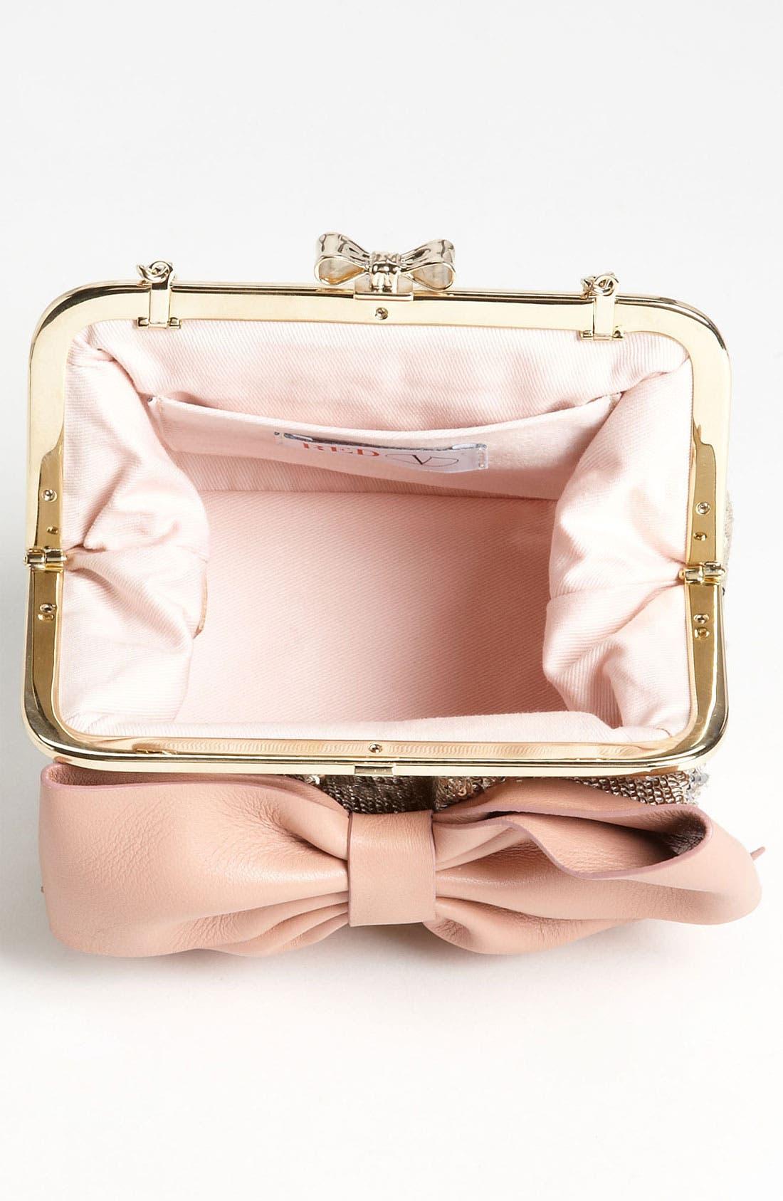 Alternate Image 3  - RED Valentino 'Sequin Bow - Small' Frame Shoulder Bag