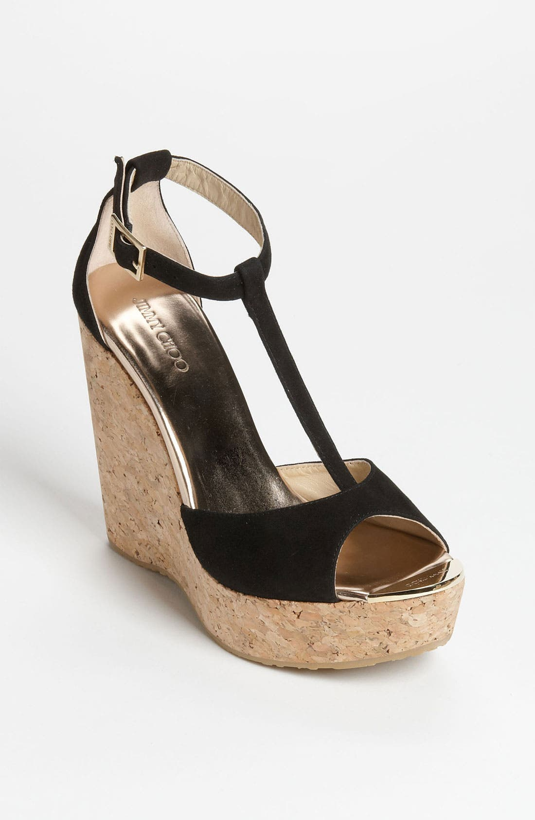 Alternate Image 1 Selected - Jimmy Choo 'Pela' Cork Sandal