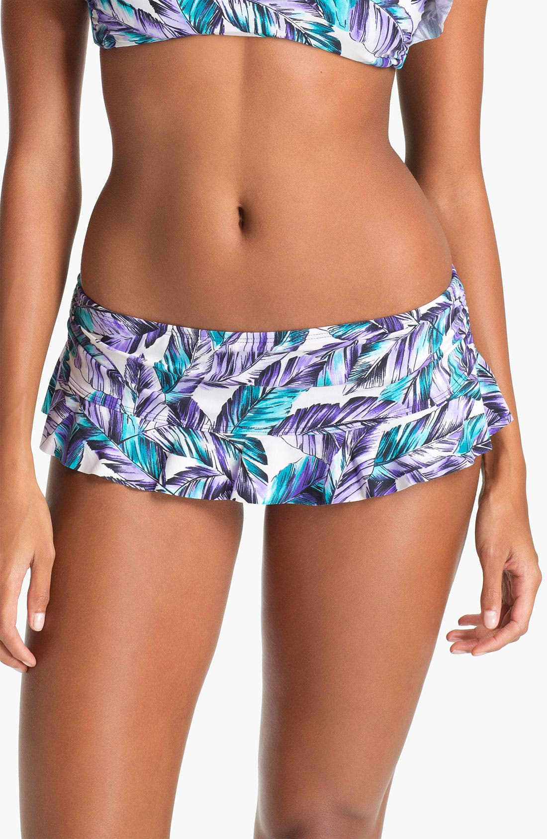 Main Image - Eco Swim Ruffle Hipster Bikini Bottoms