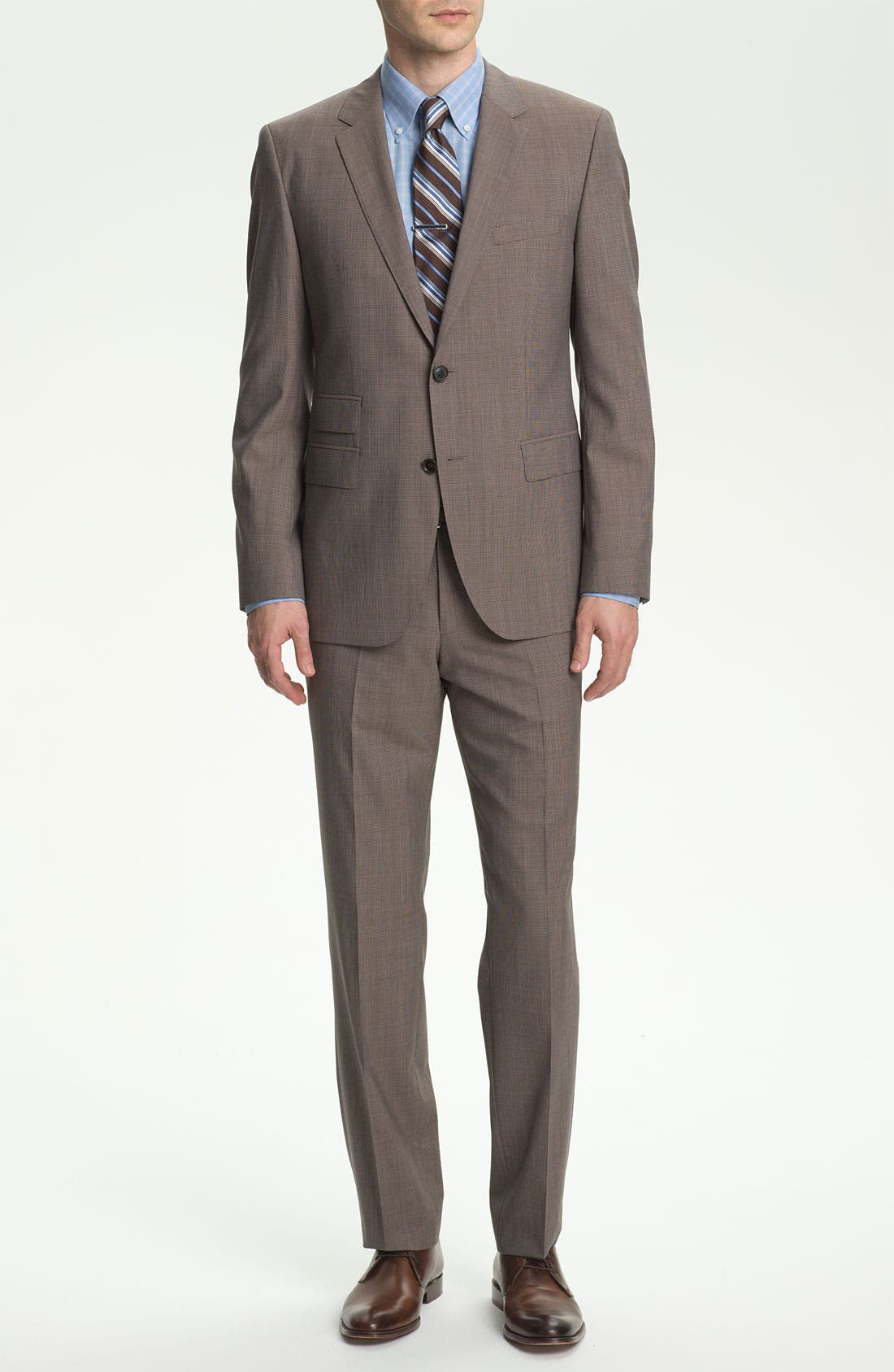 Alternate Image 2  - BOSS HUGO BOSS 'The Sweet/Sharp' Trim Fit Houndstooth Suit