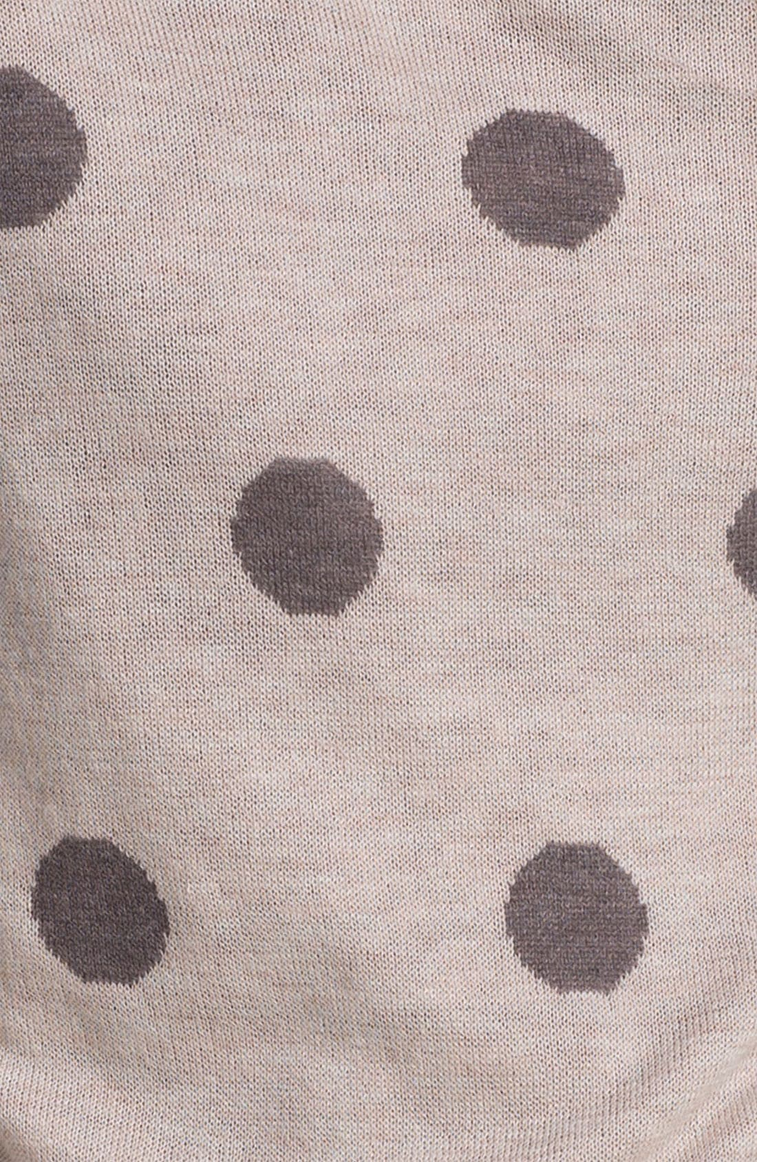 Alternate Image 3  - Max & Mia 'Big Dot' Sweater