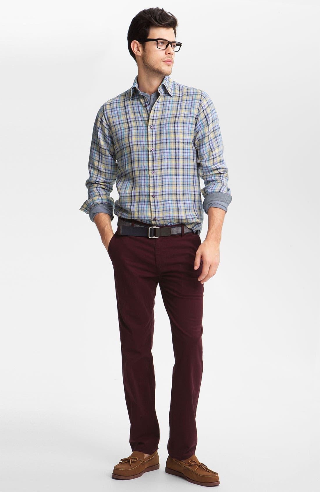 Alternate Image 4  - AG Jeans Slim Straight Leg Pants