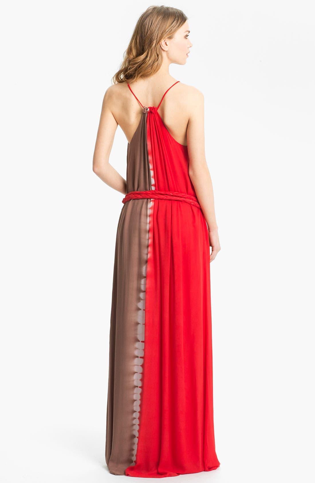 Alternate Image 2  - Young, Fabulous & Broke 'Willow' Tie Dye Maxi Dress
