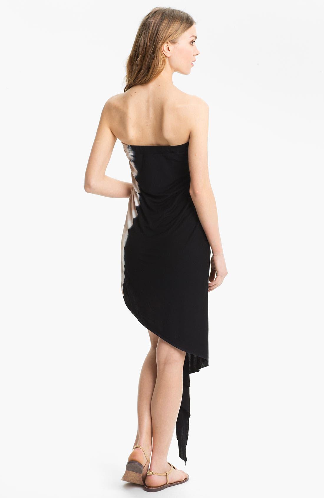Alternate Image 2  - Young, Fabulous & Broke 'Kai' Strapless Cascade Dress