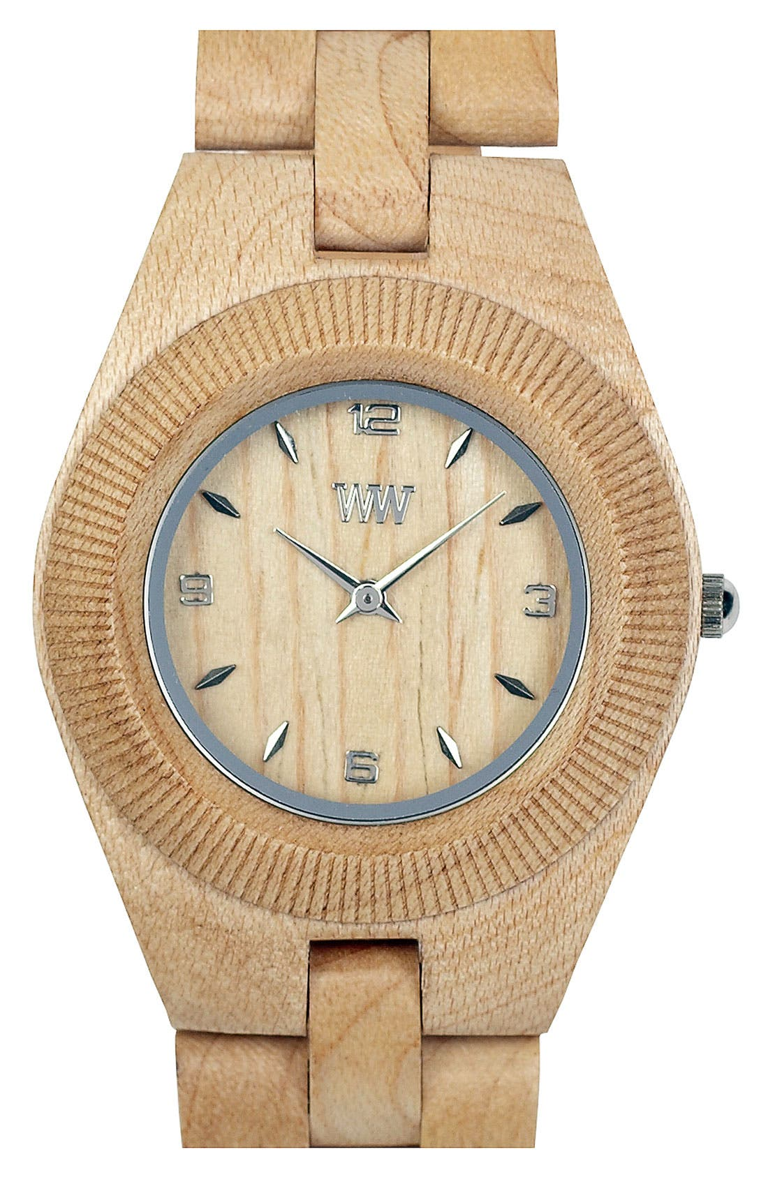 Alternate Image 1 Selected - WeWOOD 'Odyssey' Wood Watch, 44mm