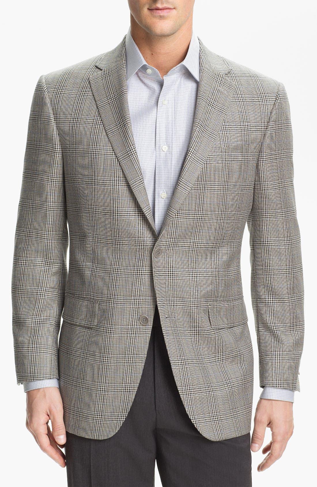 Alternate Image 1 Selected - Hart Schaffner Marx Plaid Sportcoat