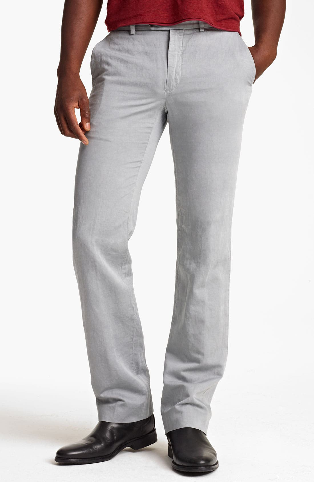 Alternate Image 1 Selected - John Varvatos Collection Straight Leg Pants