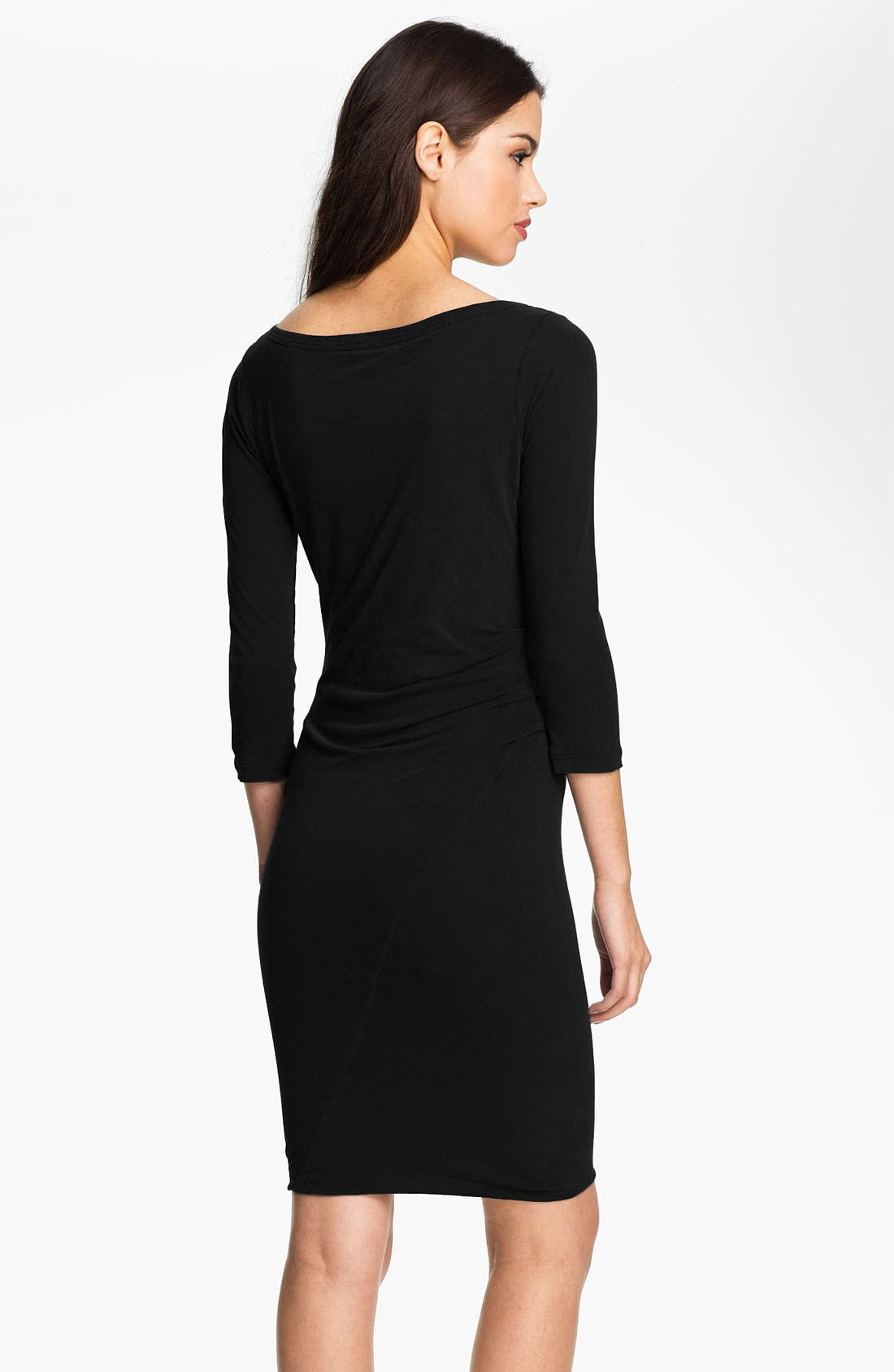 Alternate Image 2  - James Perse Asymmetrical Ruched Dress