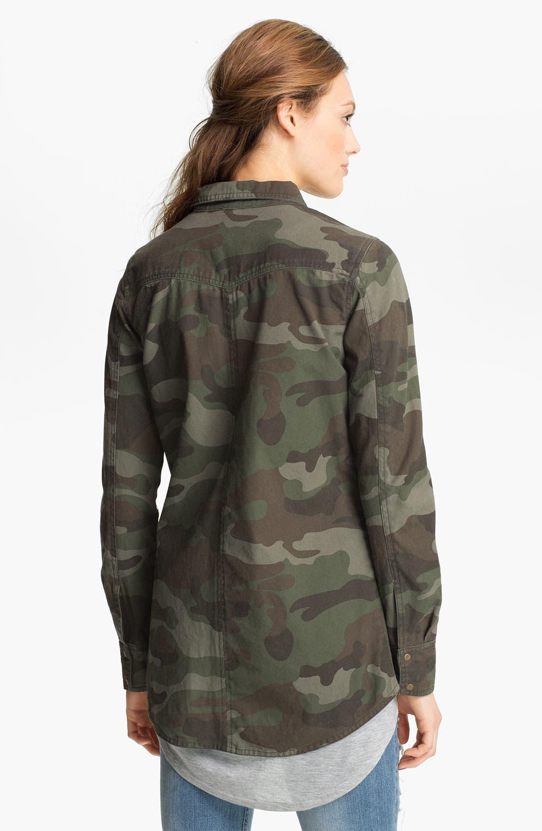 Alternate Image 2  - Elodie Embellished Army Jacket (Juniors)