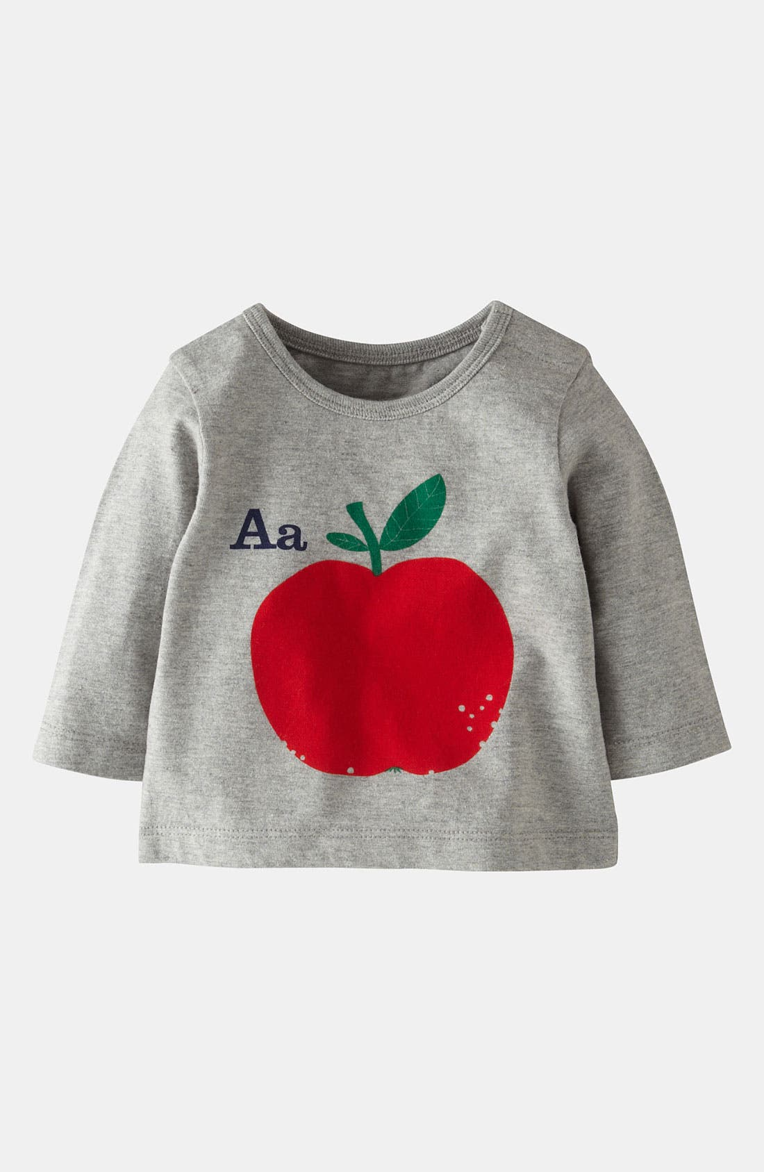 Main Image - Mini Boden 'Alphabet Print' T-Shirt (Infant)