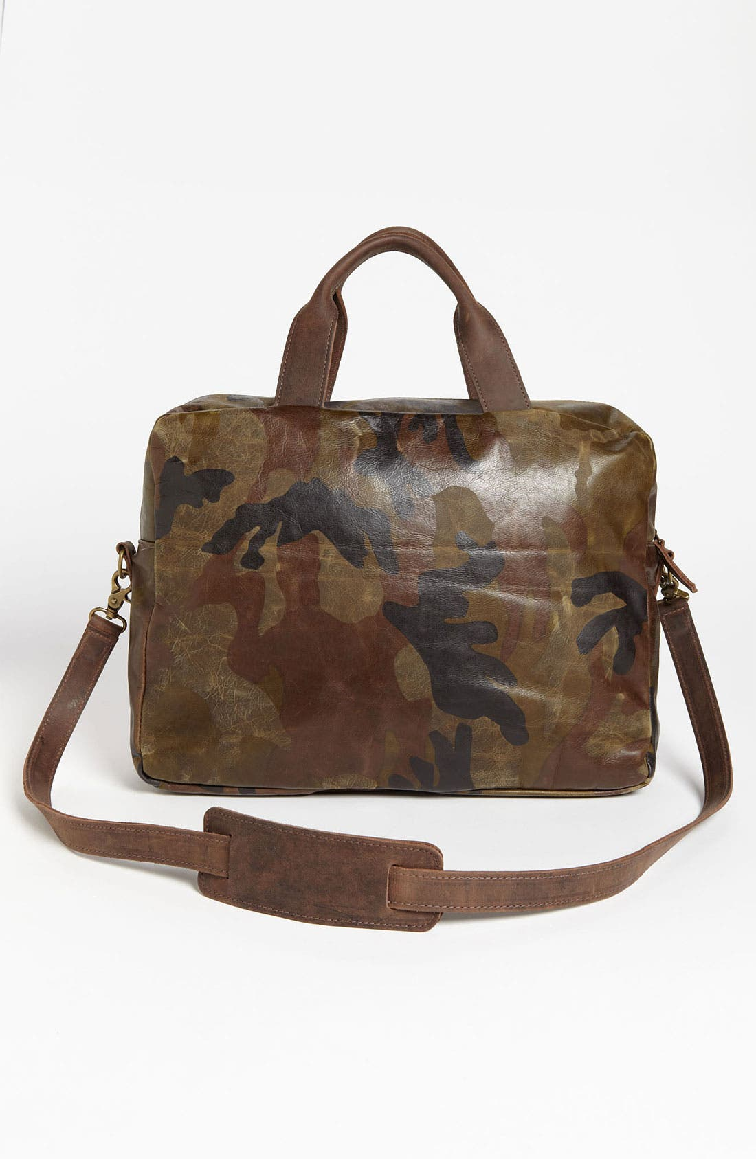 Alternate Image 2  - Insubordinate Lads 'Spencer' Leather Laptop Briefcase