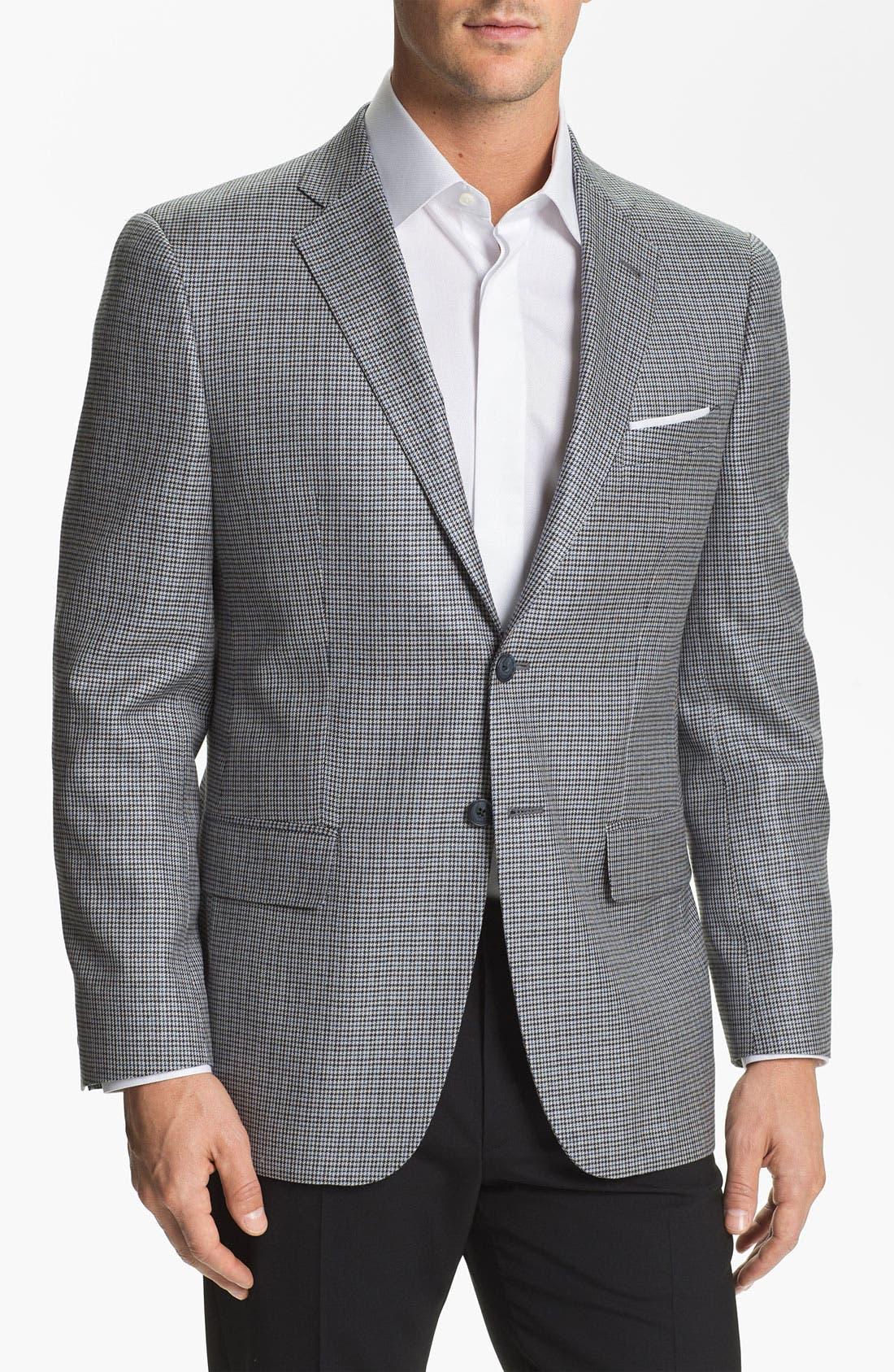 Alternate Image 1 Selected - Joseph Abboud 'Profile' Trim Fit Check Sportcoat