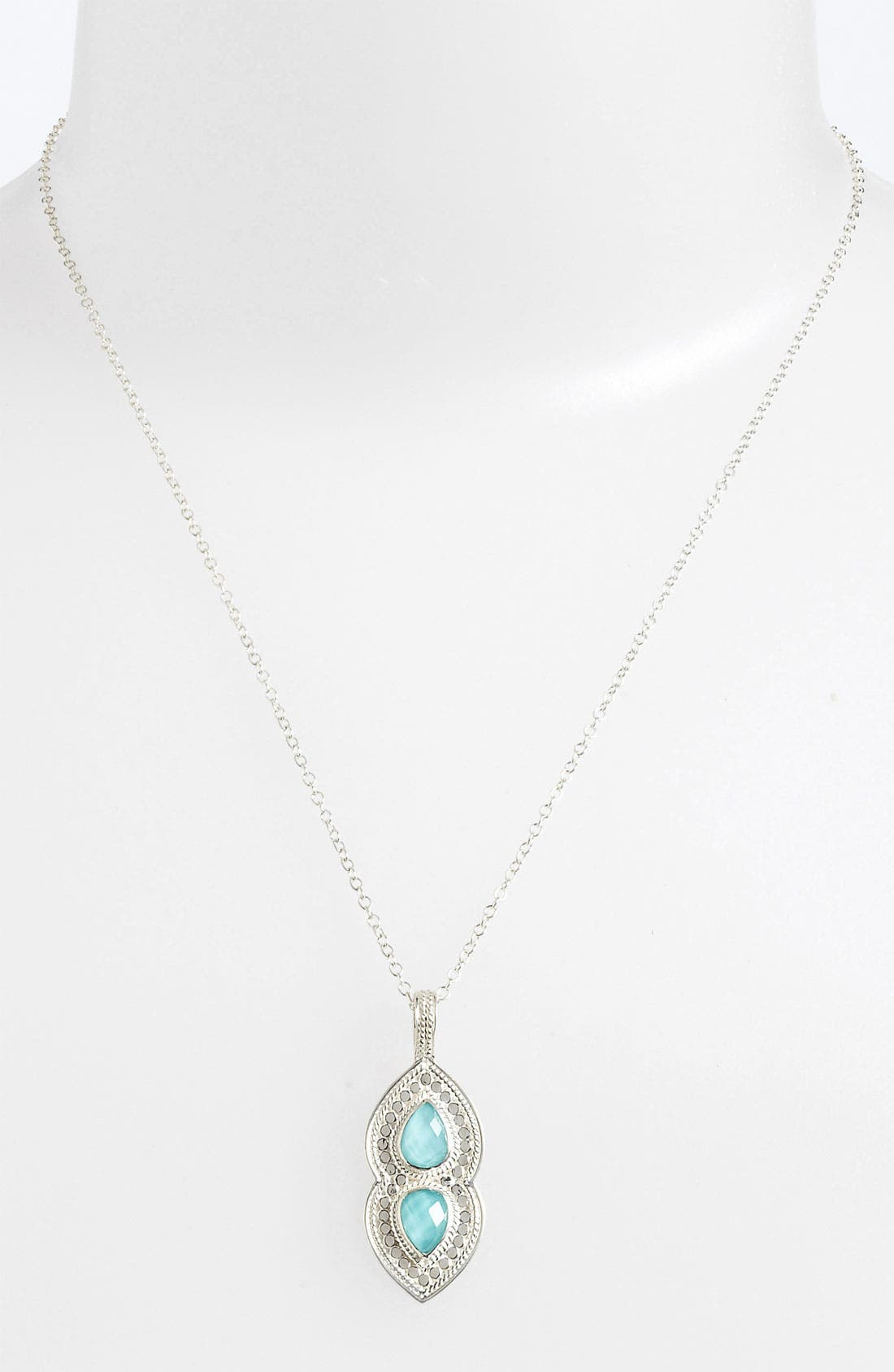 Alternate Image 2  - Anna Beck 'Gili' Wire Rimmed Pendant Necklace