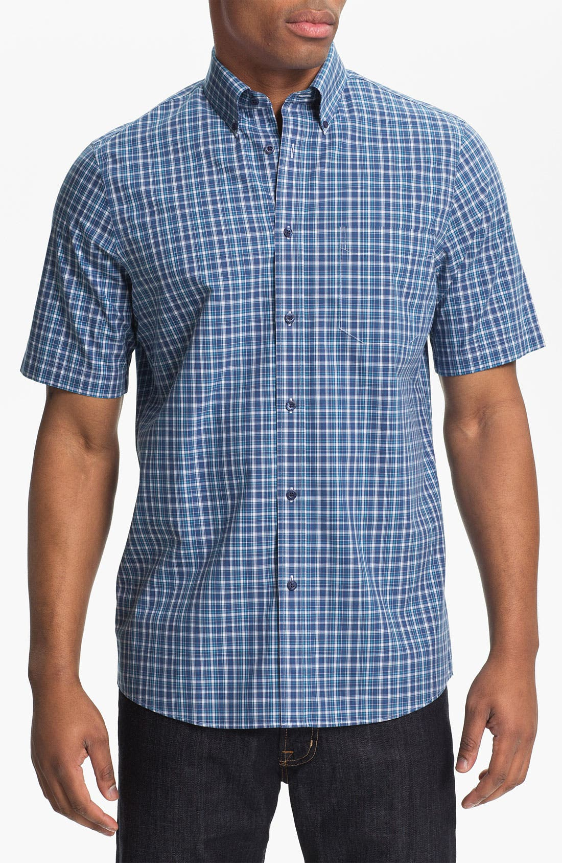Alternate Image 1 Selected - Nordstrom Smartcare™ Regular Fit Sport Shirt