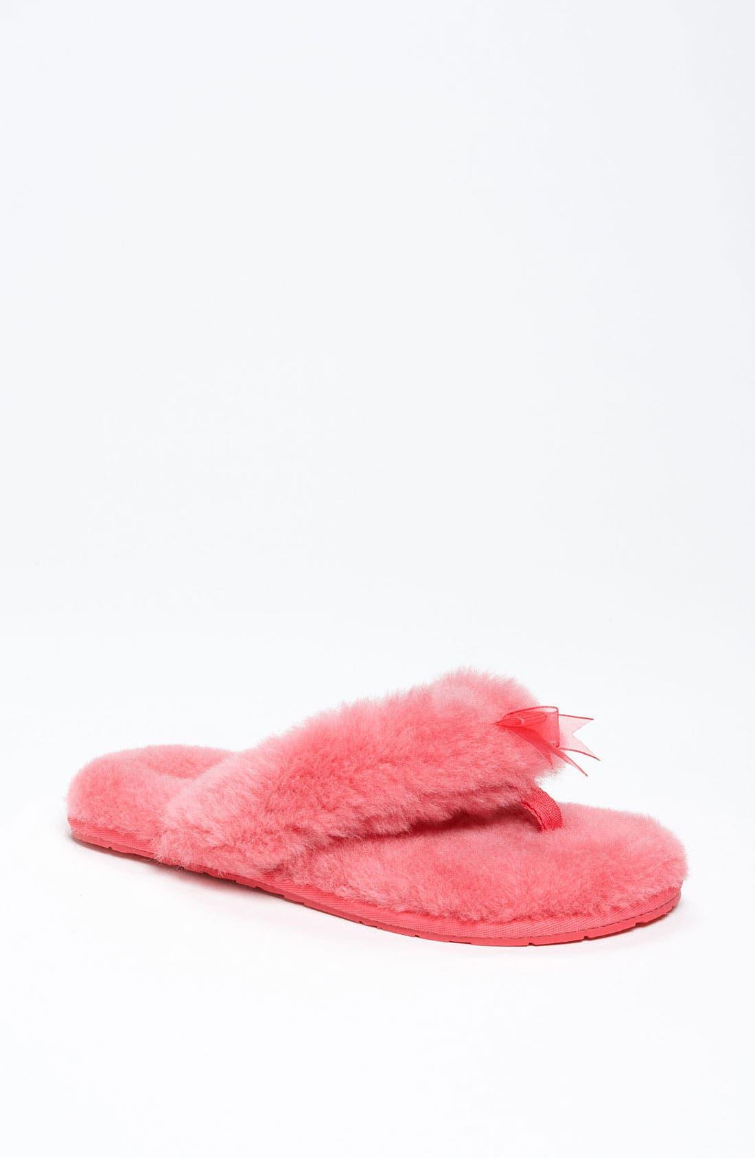 Alternate Image 1 Selected - UGG® 'Fluff II' Flip Flop (Women)