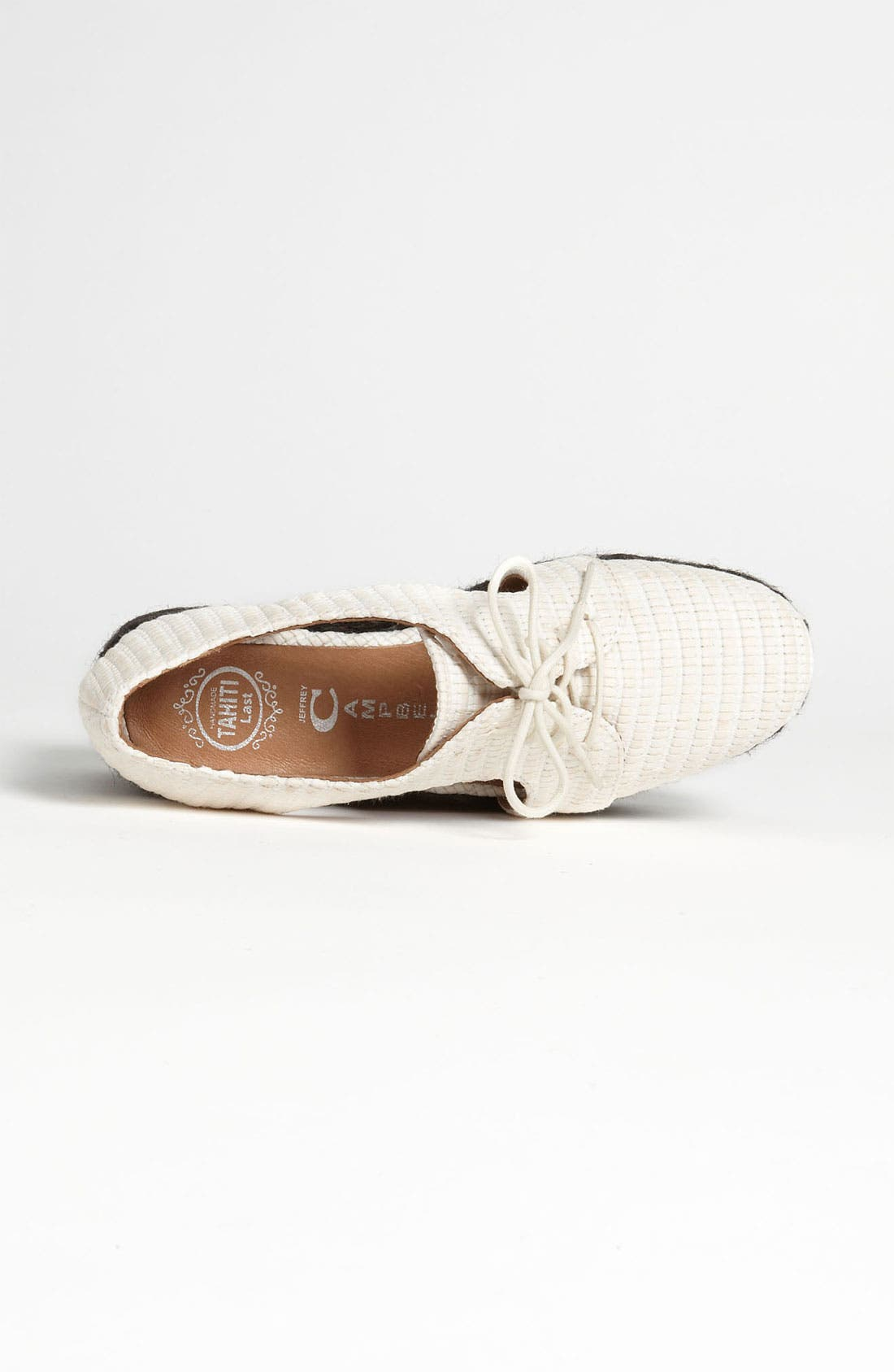 Alternate Image 3  - Jeffrey Campbell 'Clinton' Oxford Wedge
