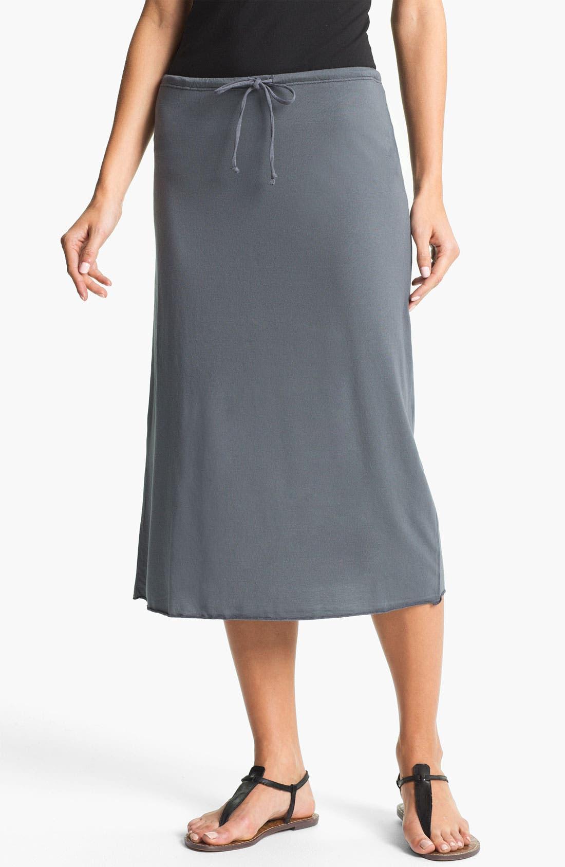 Main Image - Allen Allen Tube Skirt