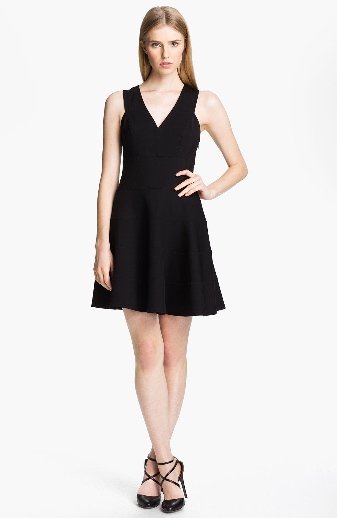 Main Image - Robert Rodriguez Seamed Fit & Flare Dress