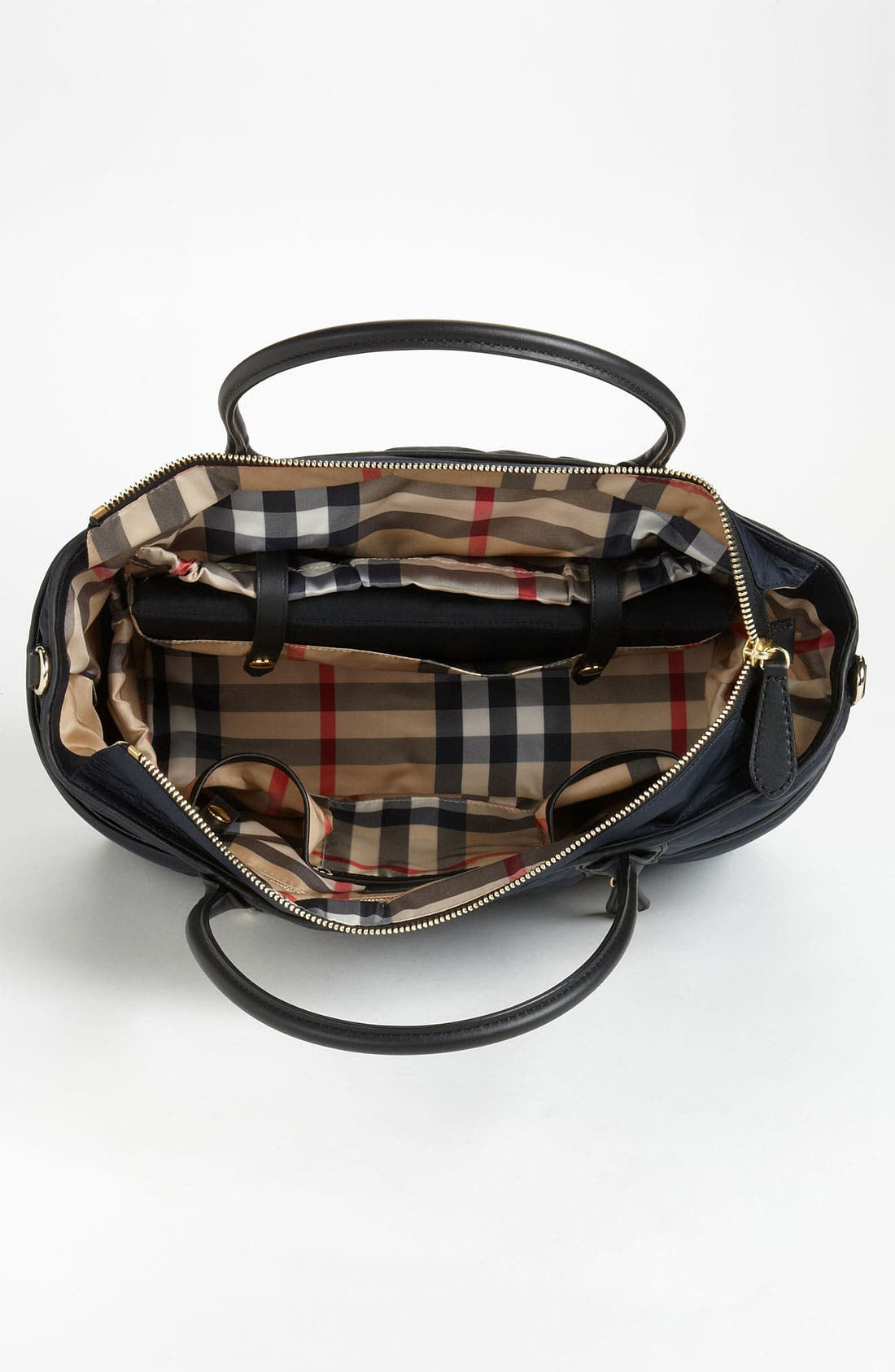 Alternate Image 3  - Burberry 'Olympia - Large' Quilted Diaper Bag