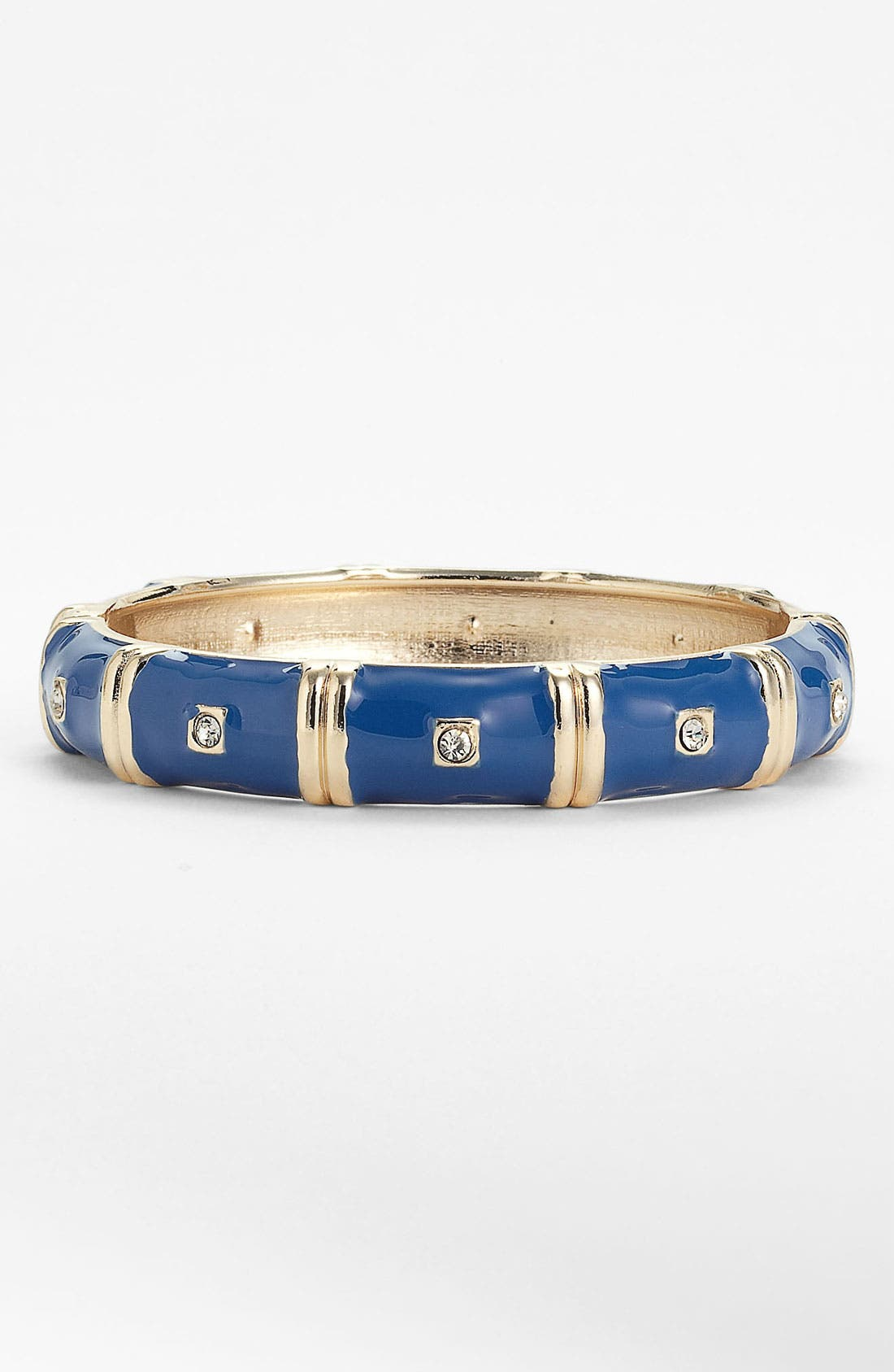 Alternate Image 1 Selected - Sequin Colorblock Hinged Bangle