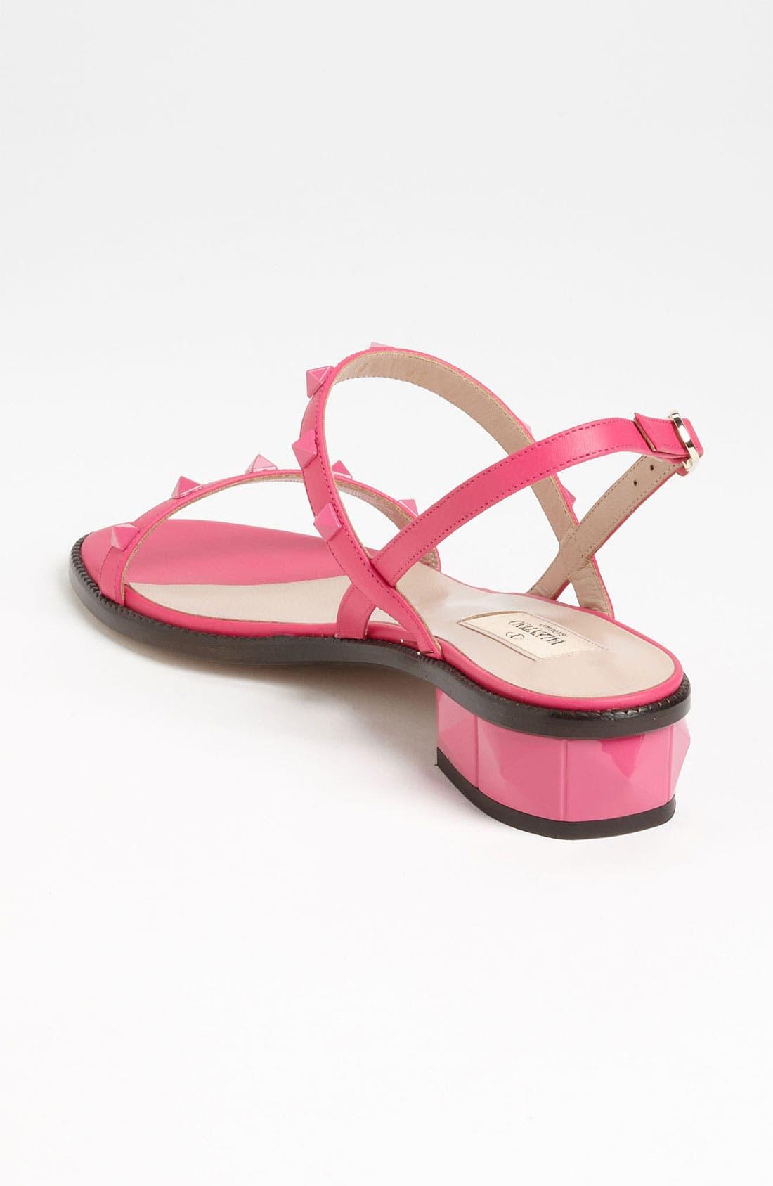 Alternate Image 2  - VALENTINO GARAVANI 'Rockstud' Sandal