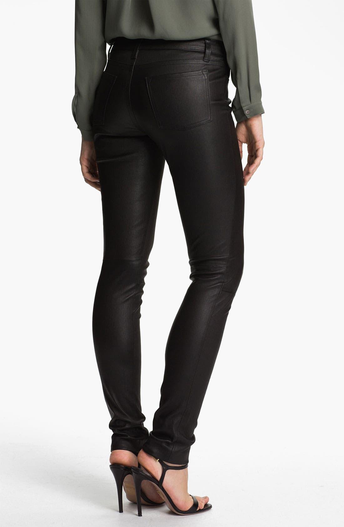 Alternate Image 2  - Vince Leather Pants