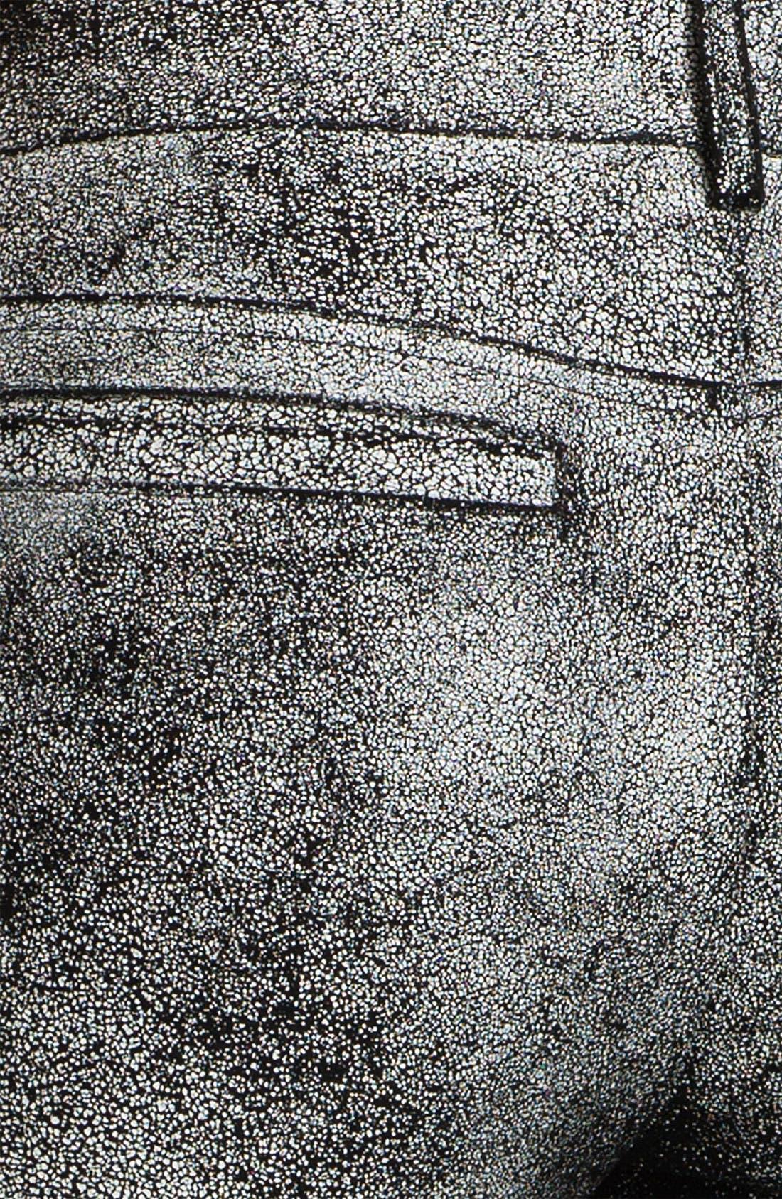 Alternate Image 4  - Skaist-Taylor Cracked Leather Moto Pants