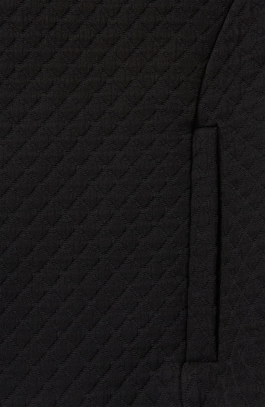 Alternate Image 3  - Topshop Quilted Crop Drop Shoulder Jacket