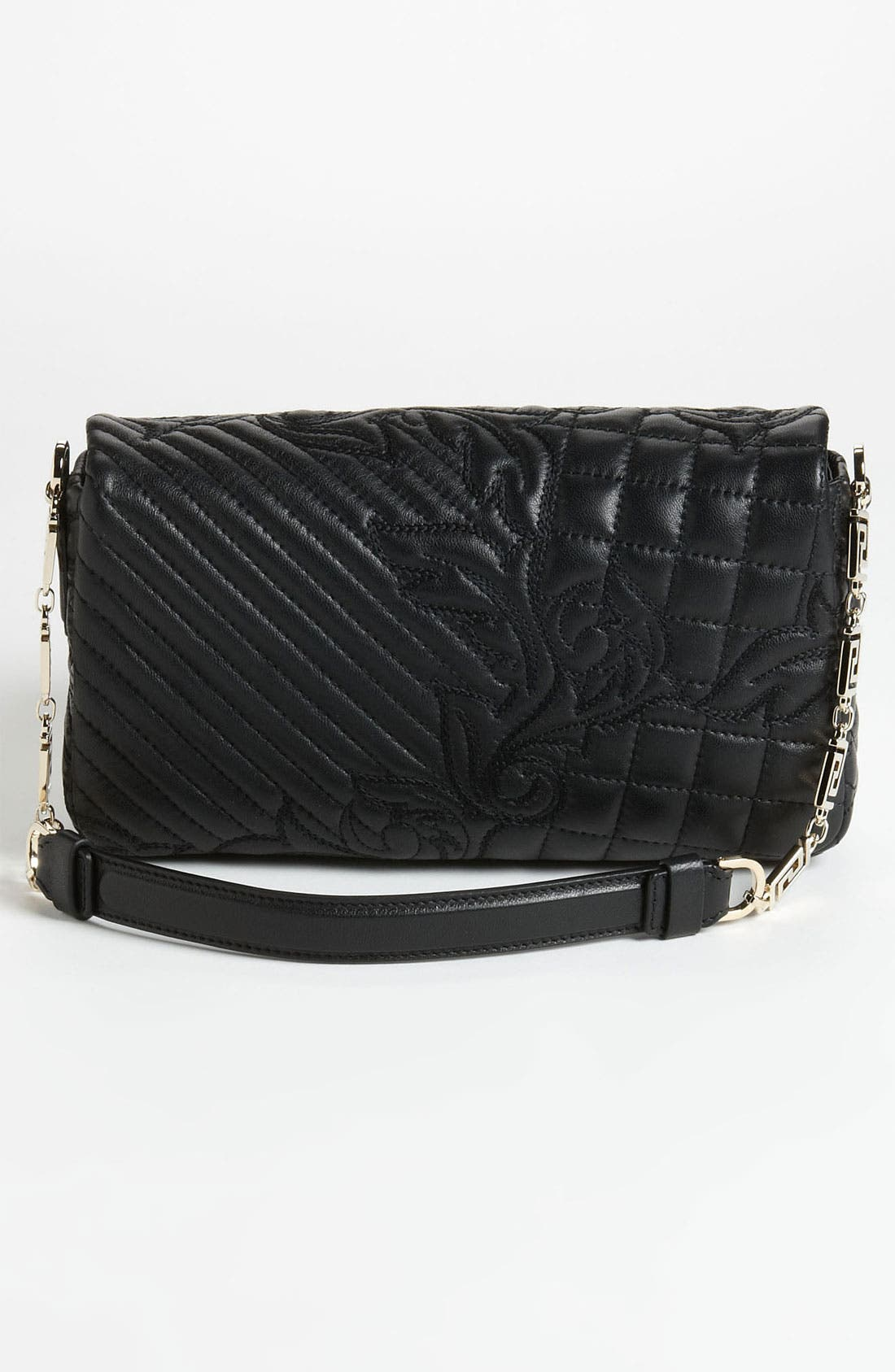 Alternate Image 4  - Versace 'Vanitas - Small' Embroidered Leather Shoulder Bag