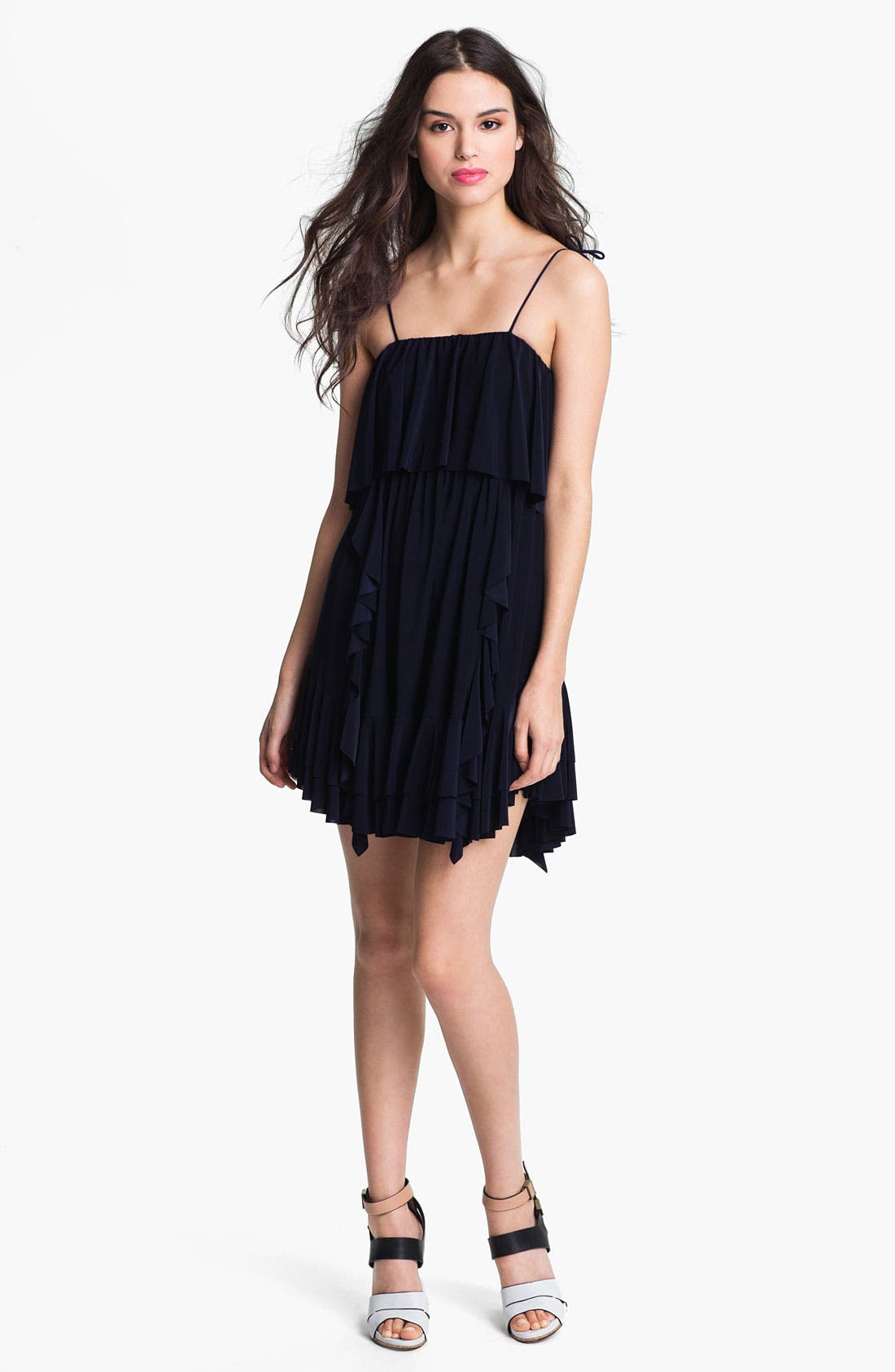 Alternate Image 1 Selected - Tbags Los Angeles Ruffled Dress