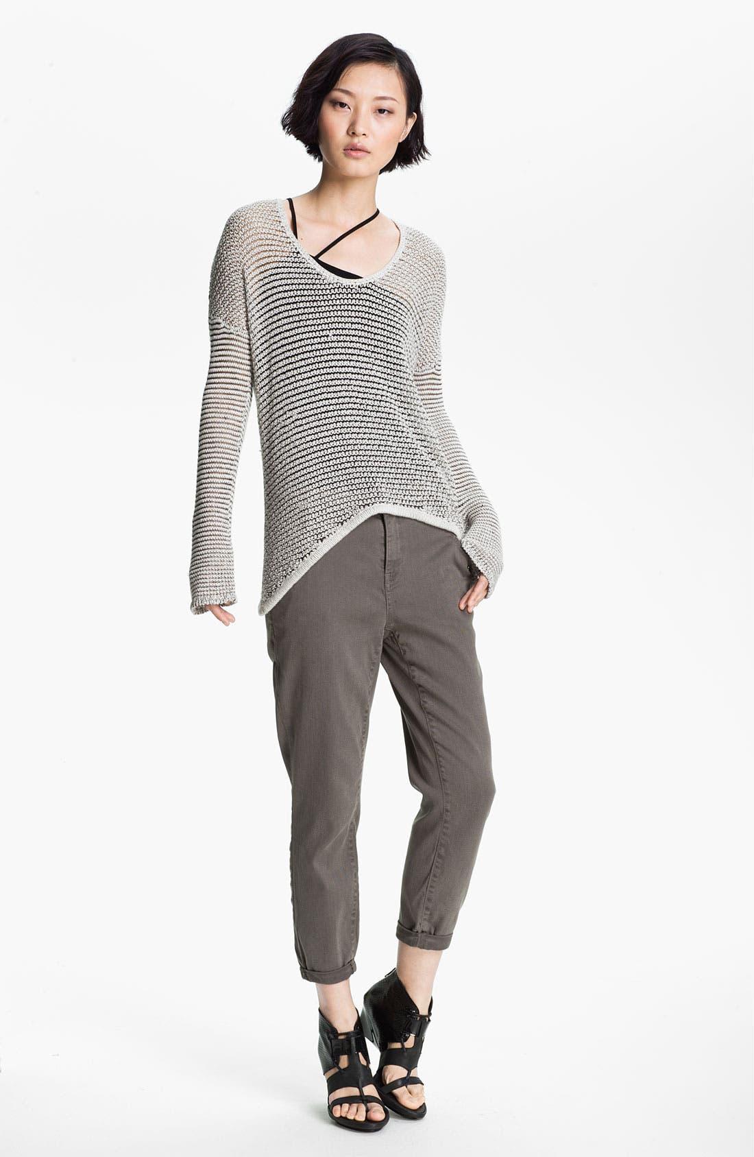 Alternate Image 2  - HELMUT Helmut Lang Open Knit Sweater