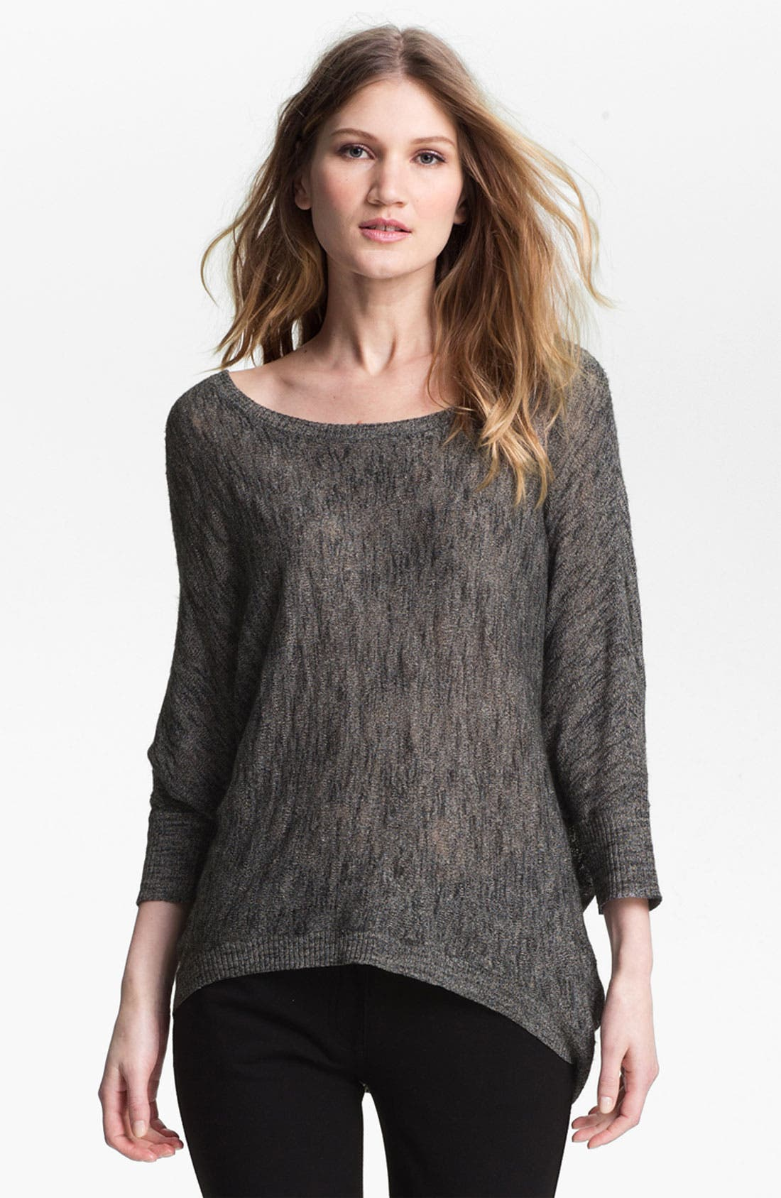 Alternate Image 1 Selected - Eileen Fisher Bateau Neck Sweater (Online Exclusive)