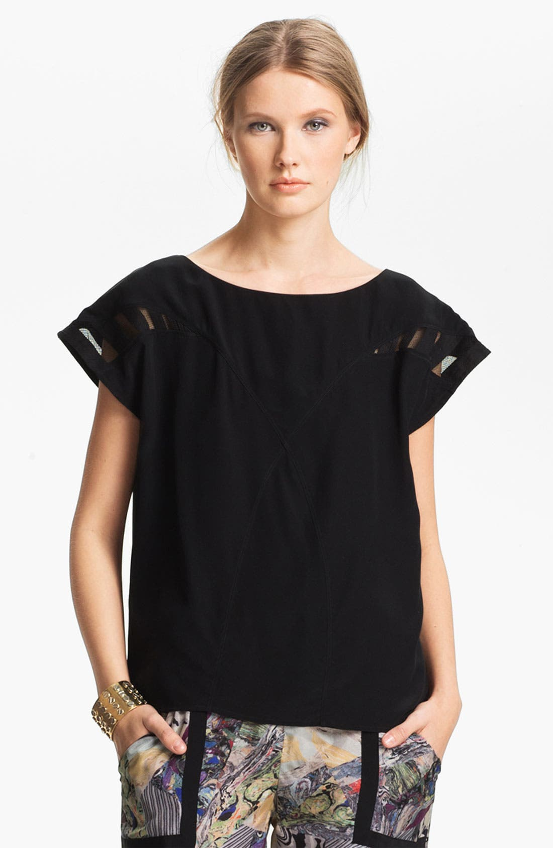 Alternate Image 2  - Kelly Wearstler 'Monarch' Silk Top