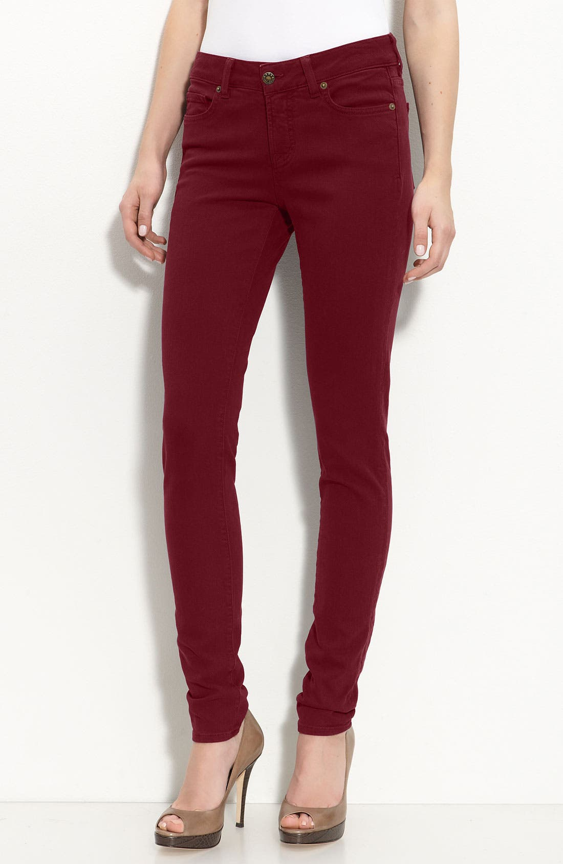 Main Image - Blue Essence Color Skinny Jeans (Nordstrom Exclusive)