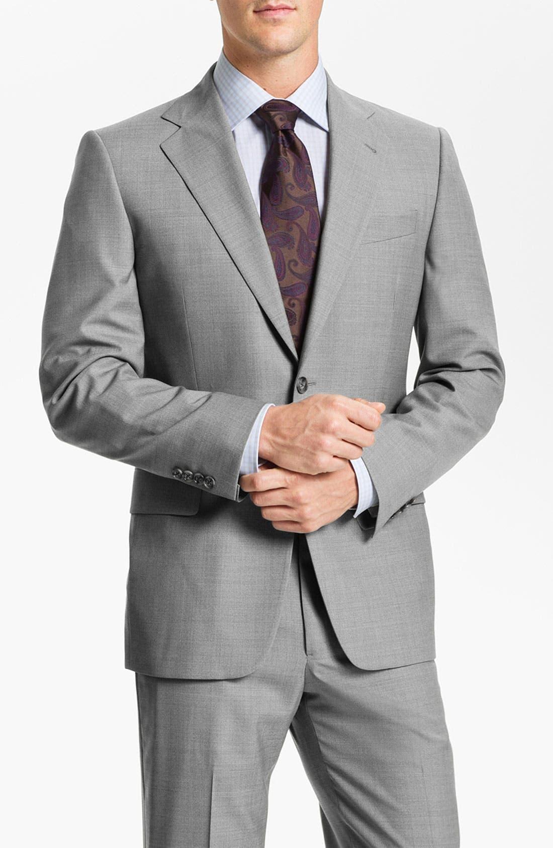 Alternate Image 1 Selected - Joseph Abboud Wool Suit