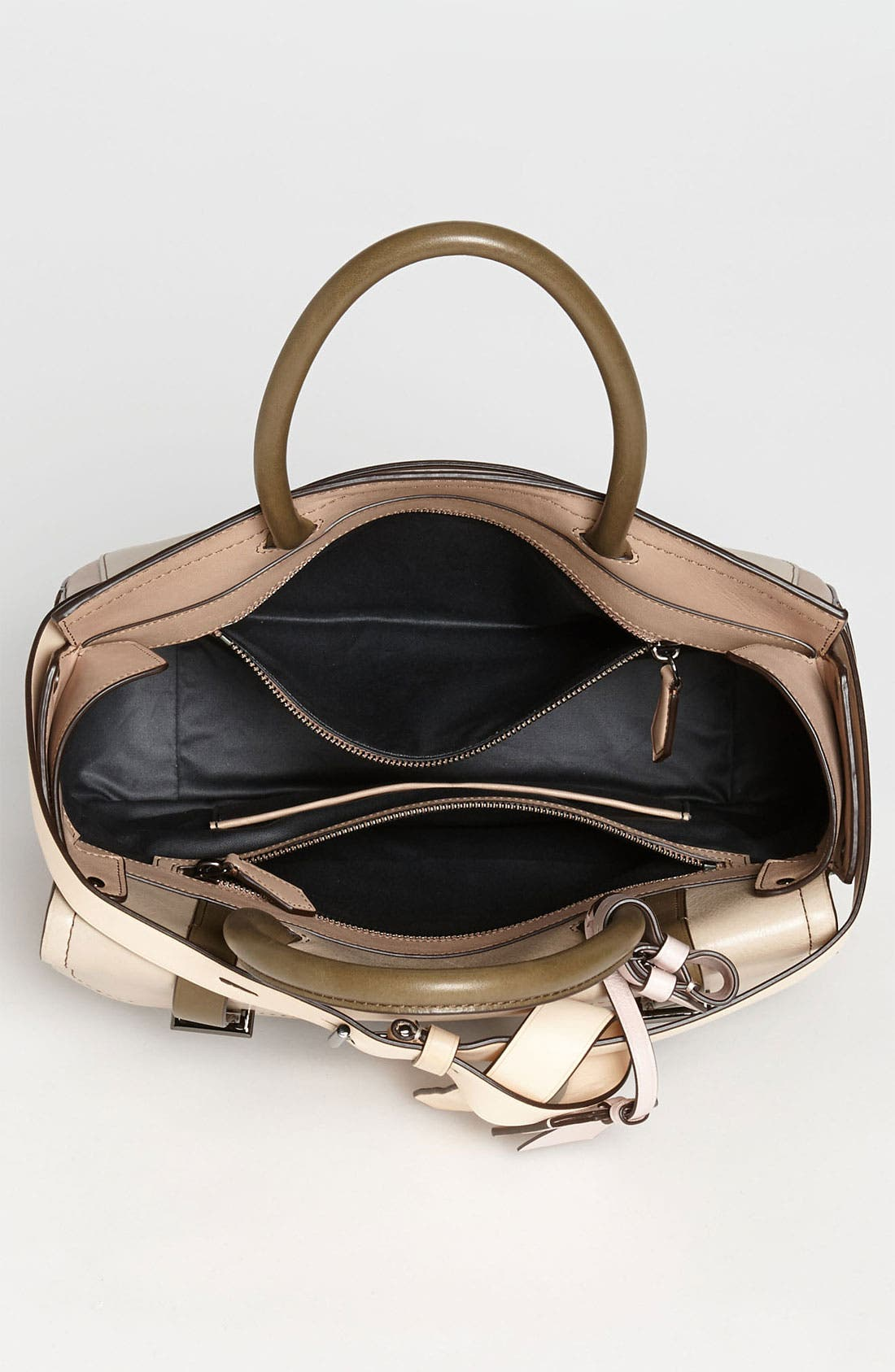 Alternate Image 3  - Reed Krakoff 'Boxer' Colorblocked Leather Satchel