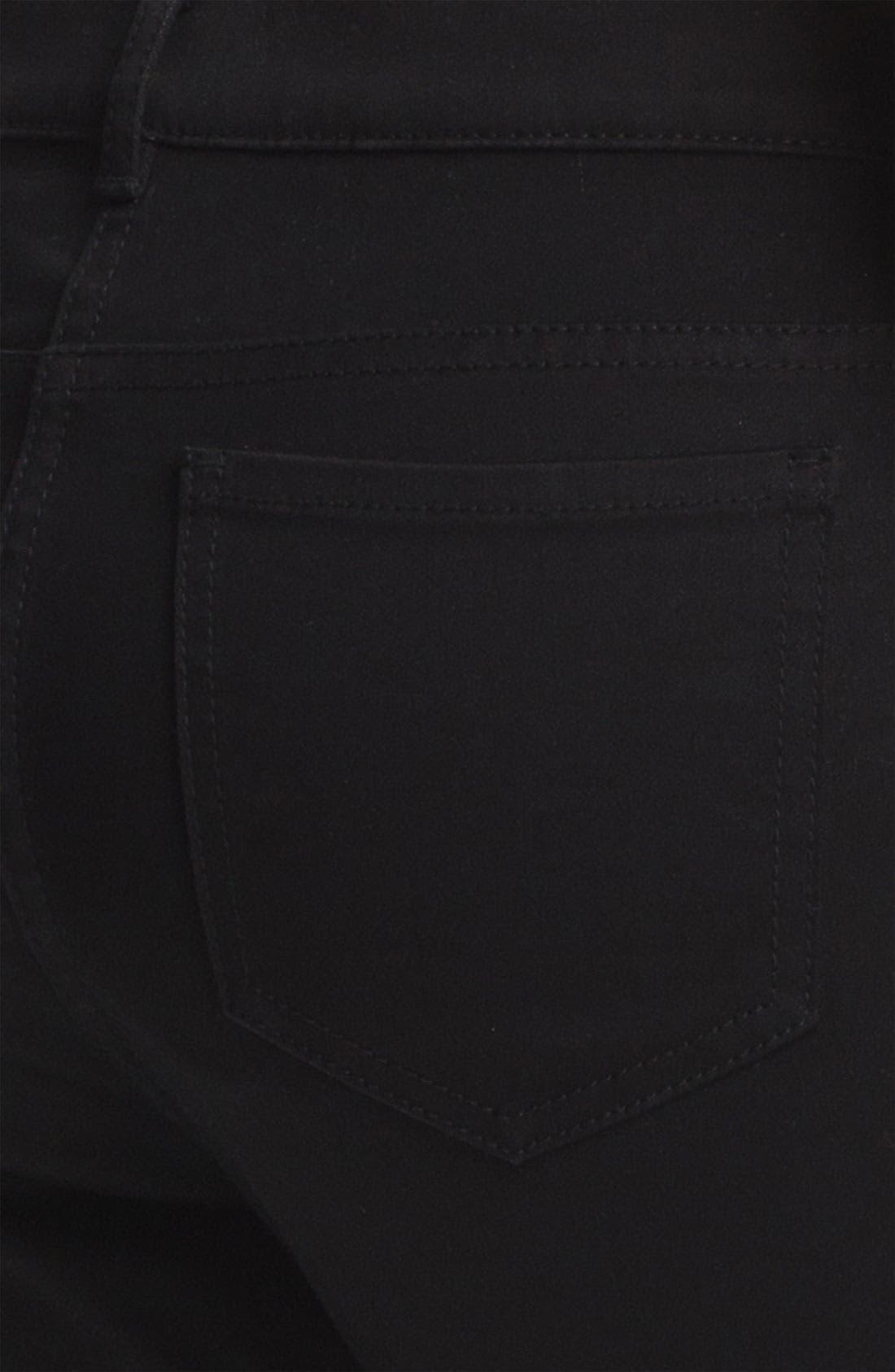 Alternate Image 6  - T by Alexander Wang High Waist Stretch Sateen Jeans