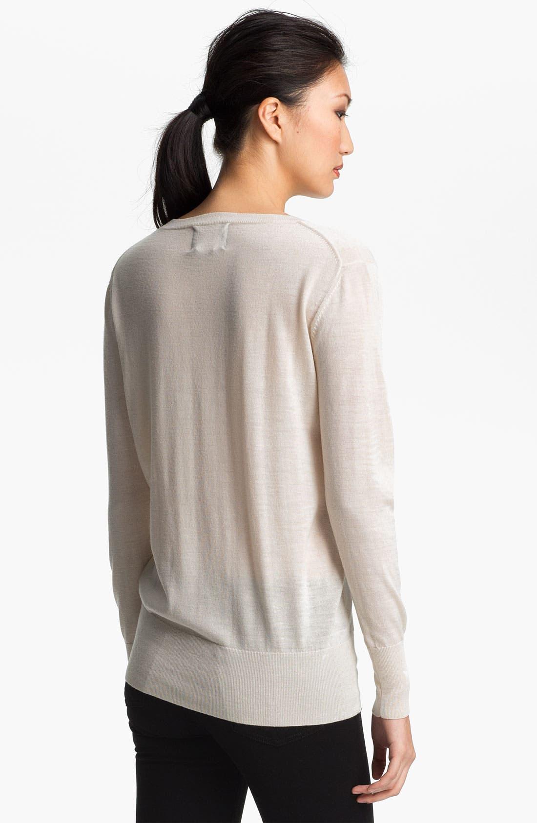 Alternate Image 3  - Markus Lupfer Sequin Lip Sweater