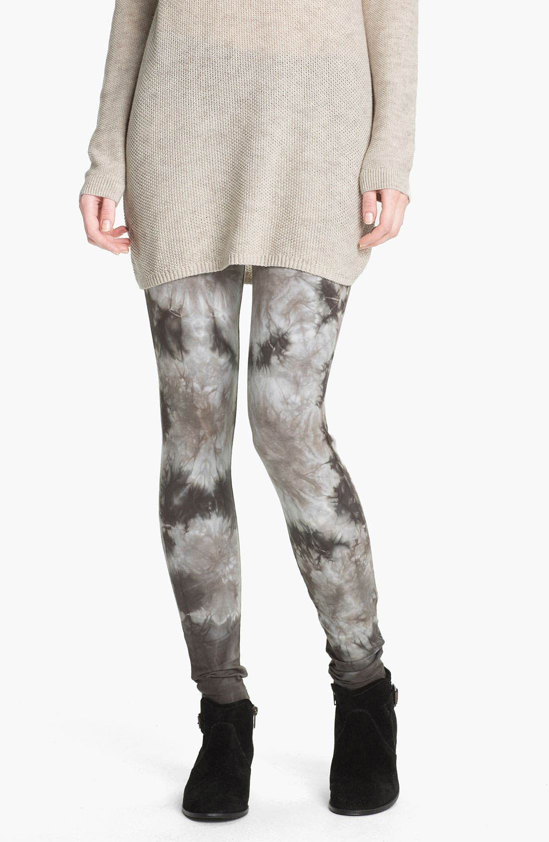 Alternate Image 1 Selected - BP. Tie Dye Leggings (Juniors)