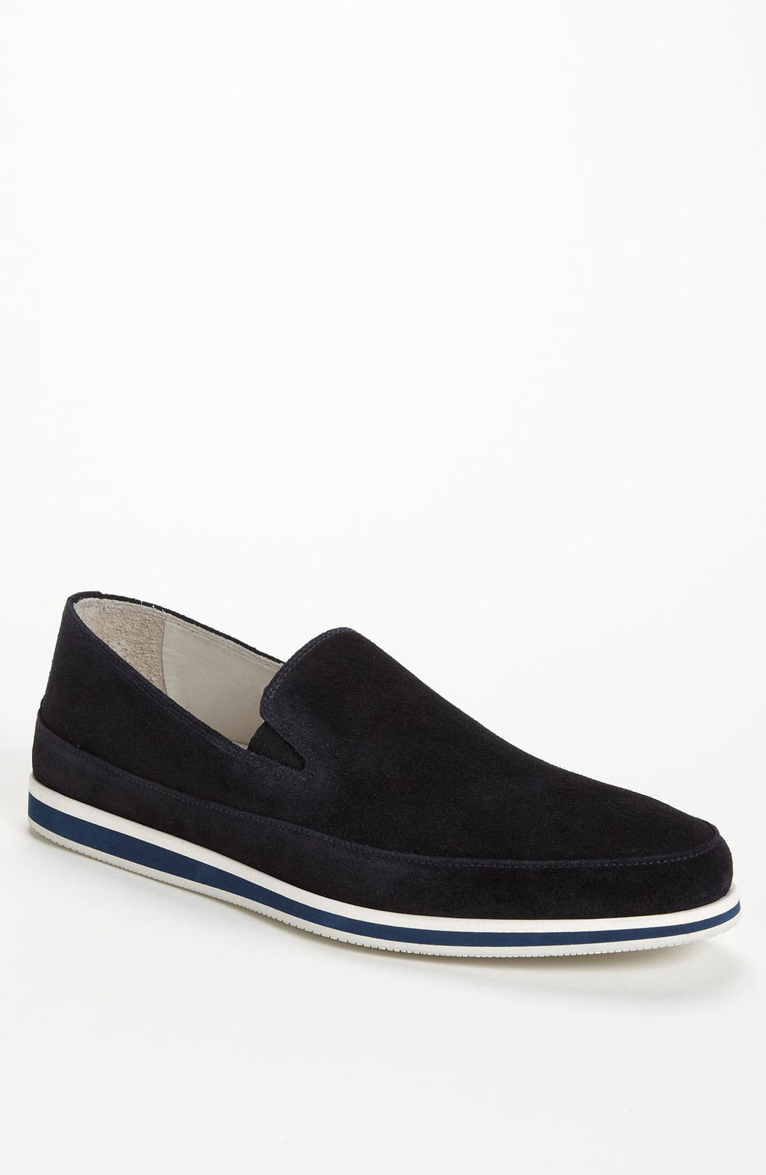 Alternate Image 1 Selected - Prada Suede Loafer