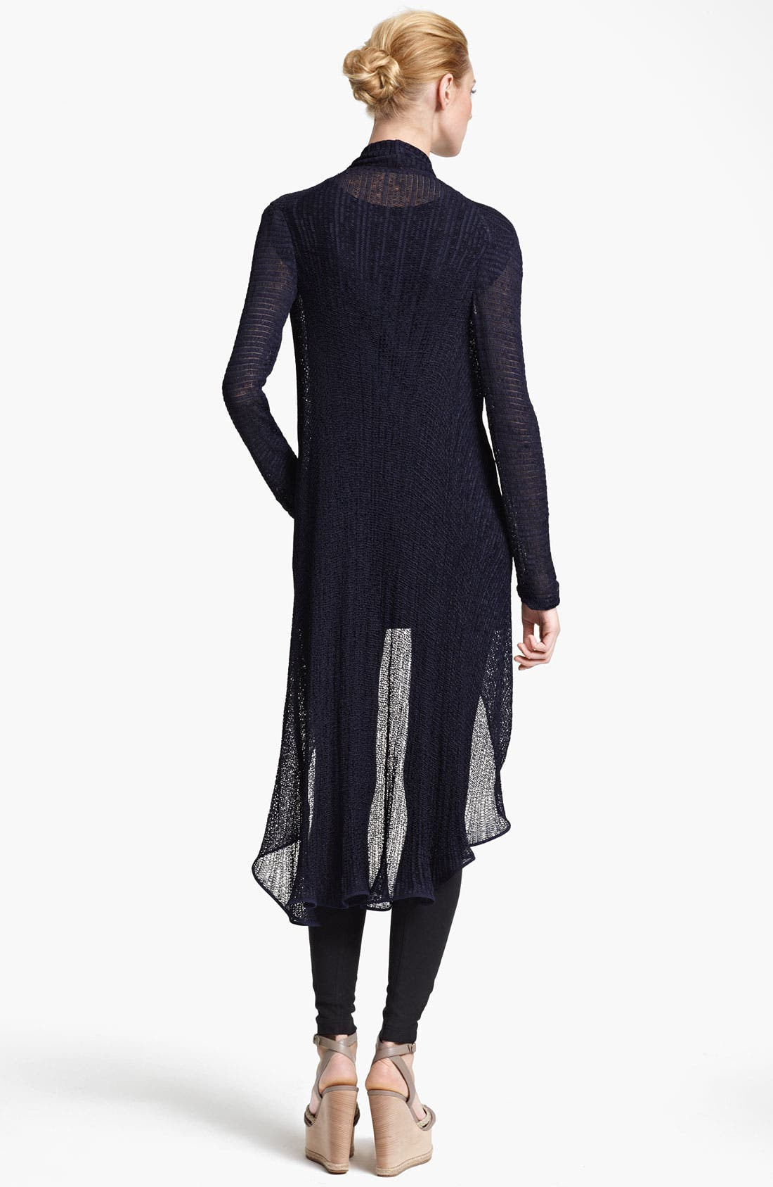 Alternate Image 2  - Donna Karan Collection Lightweight Jersey Cozy