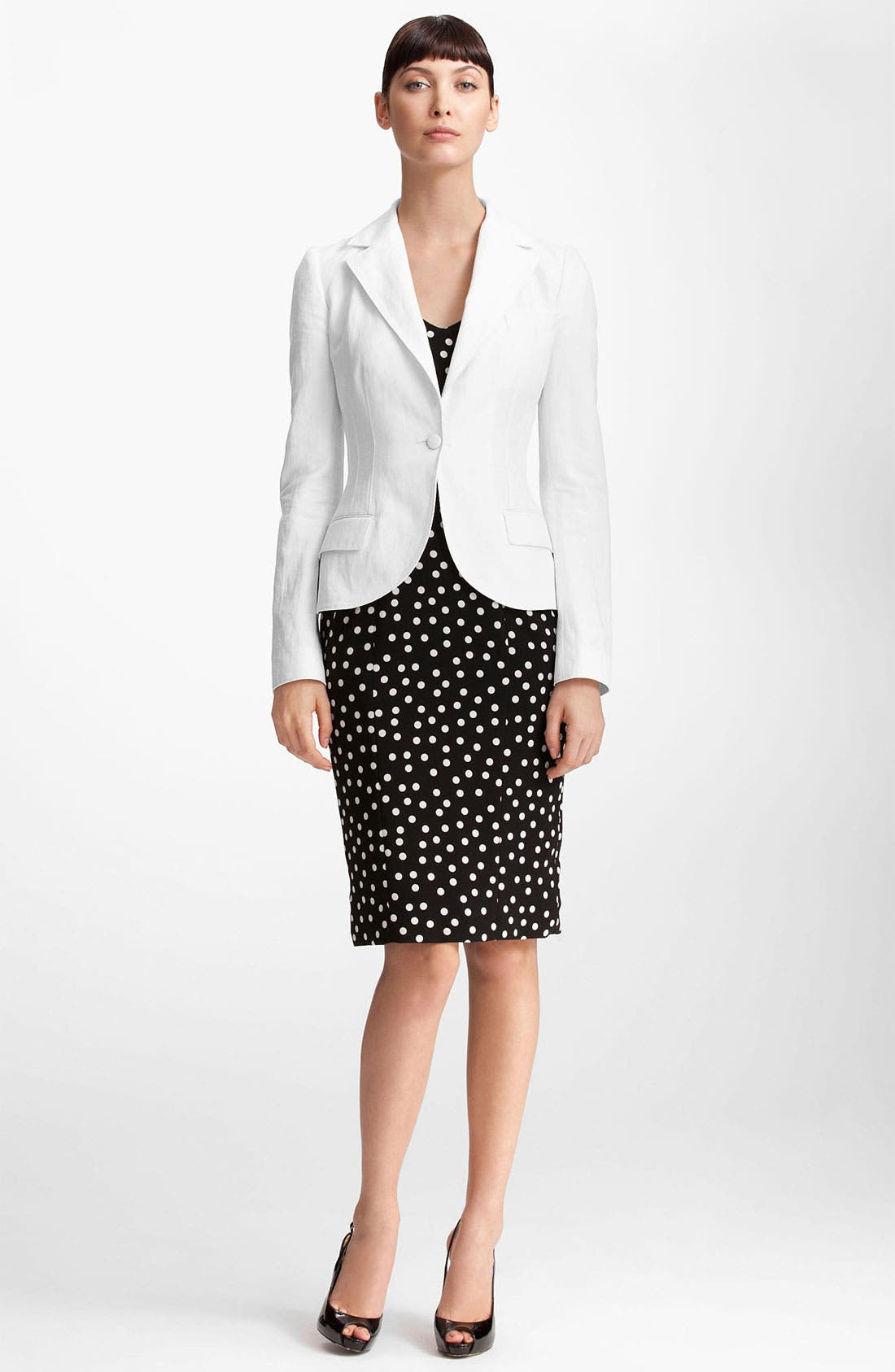 Alternate Image 1 Selected - Dolce&Gabbana One Button Blazer