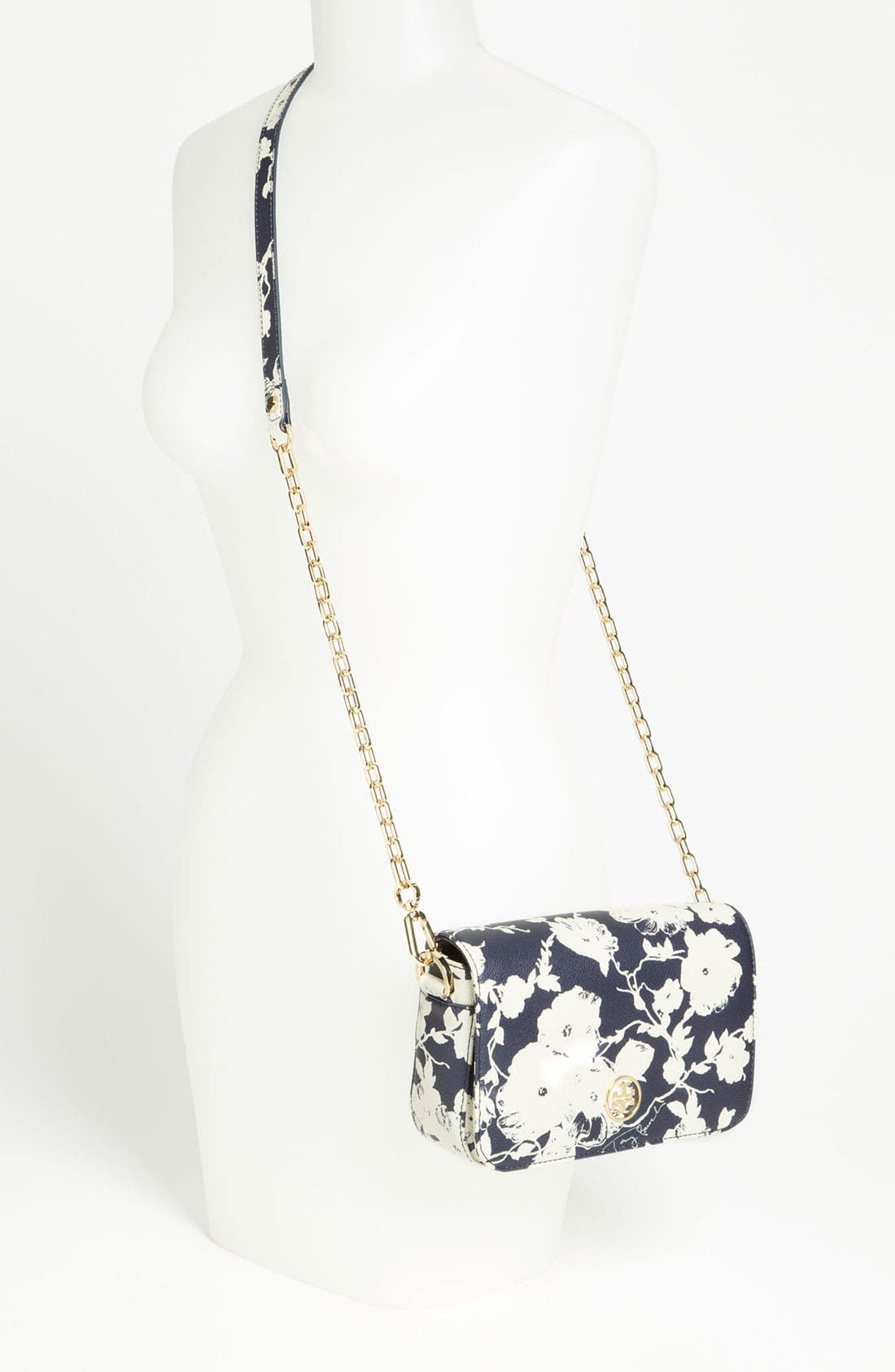 Alternate Image 2  - Tory Burch 'Robinson - Mini' Print Leather Adjustable Crossbody Bag
