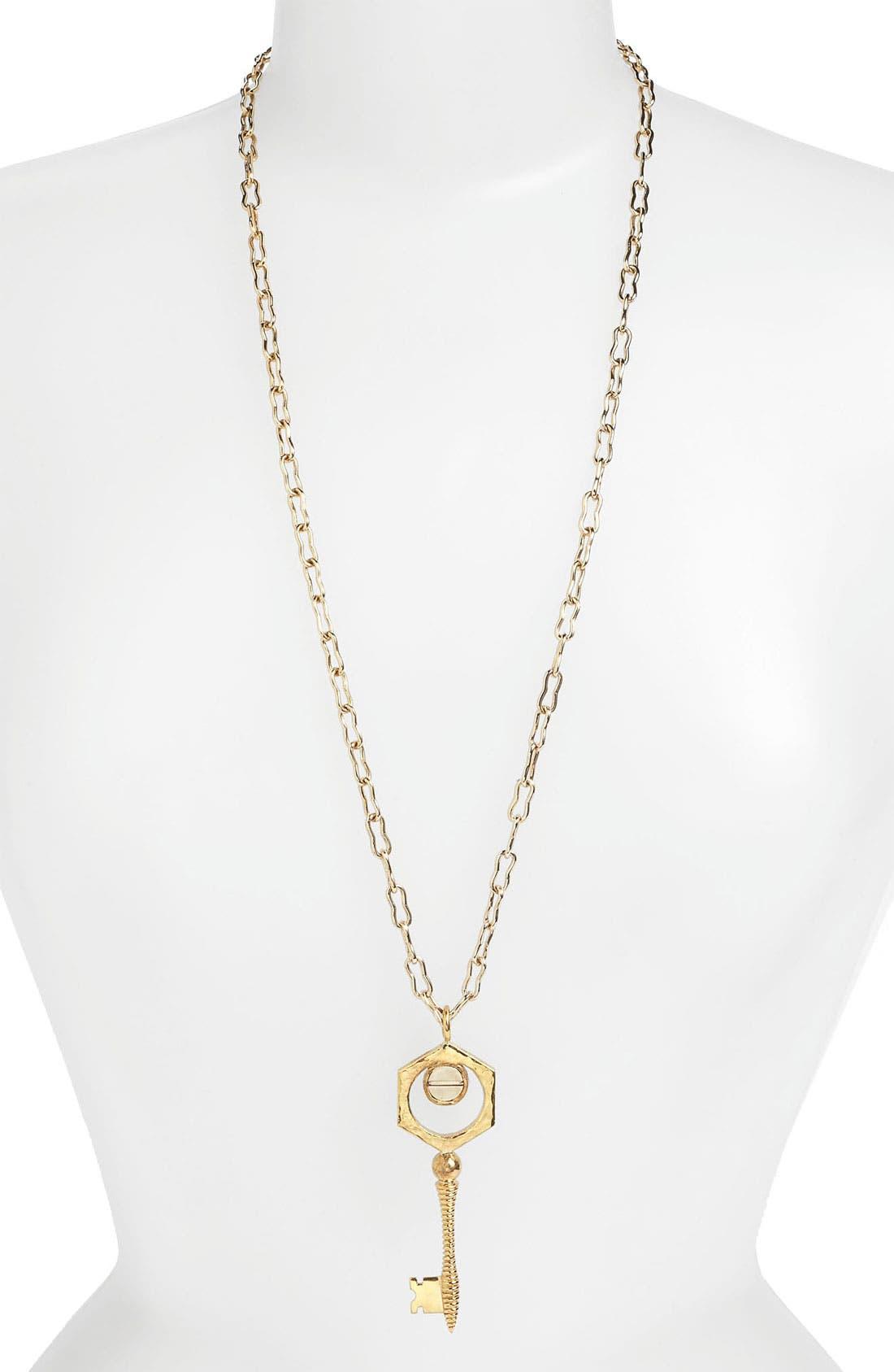 Alternate Image 2  - Kelly Wearstler Key Pendant Necklace