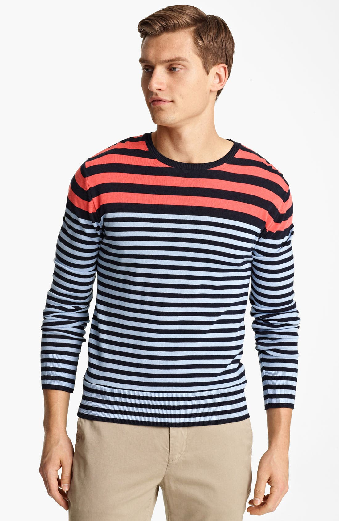 Alternate Image 1 Selected - PS Paul Smith Stripe Sweater