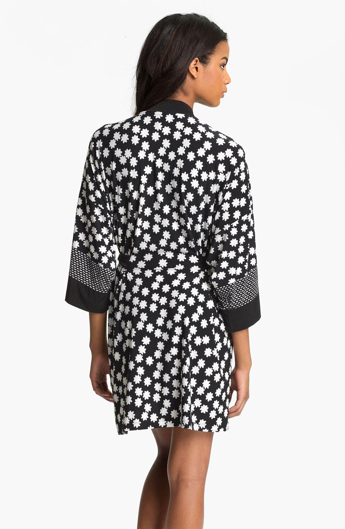 Alternate Image 2  - In Bloom by Jonquil 'Boho Stripe' Short Robe